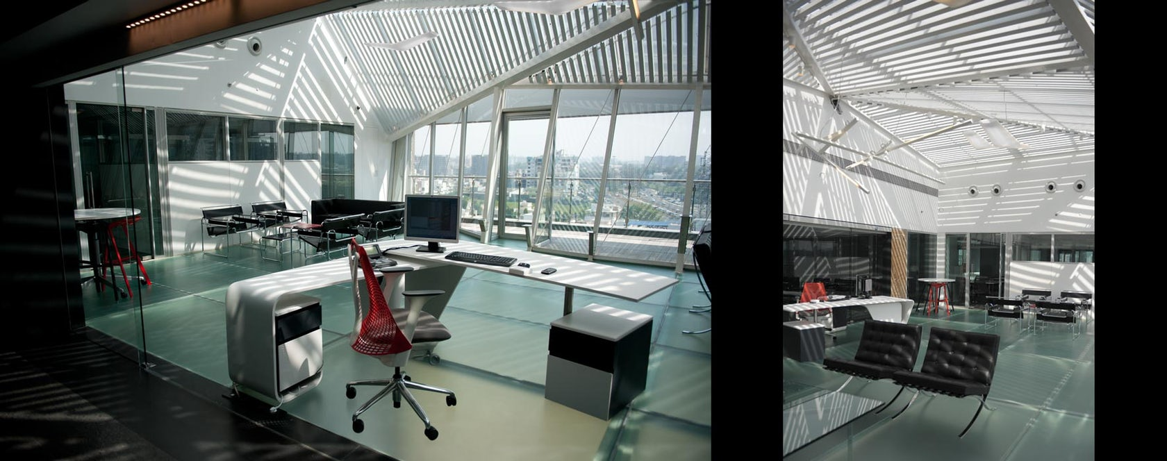 Floatspace office extension redesign architizer for Redesign office space