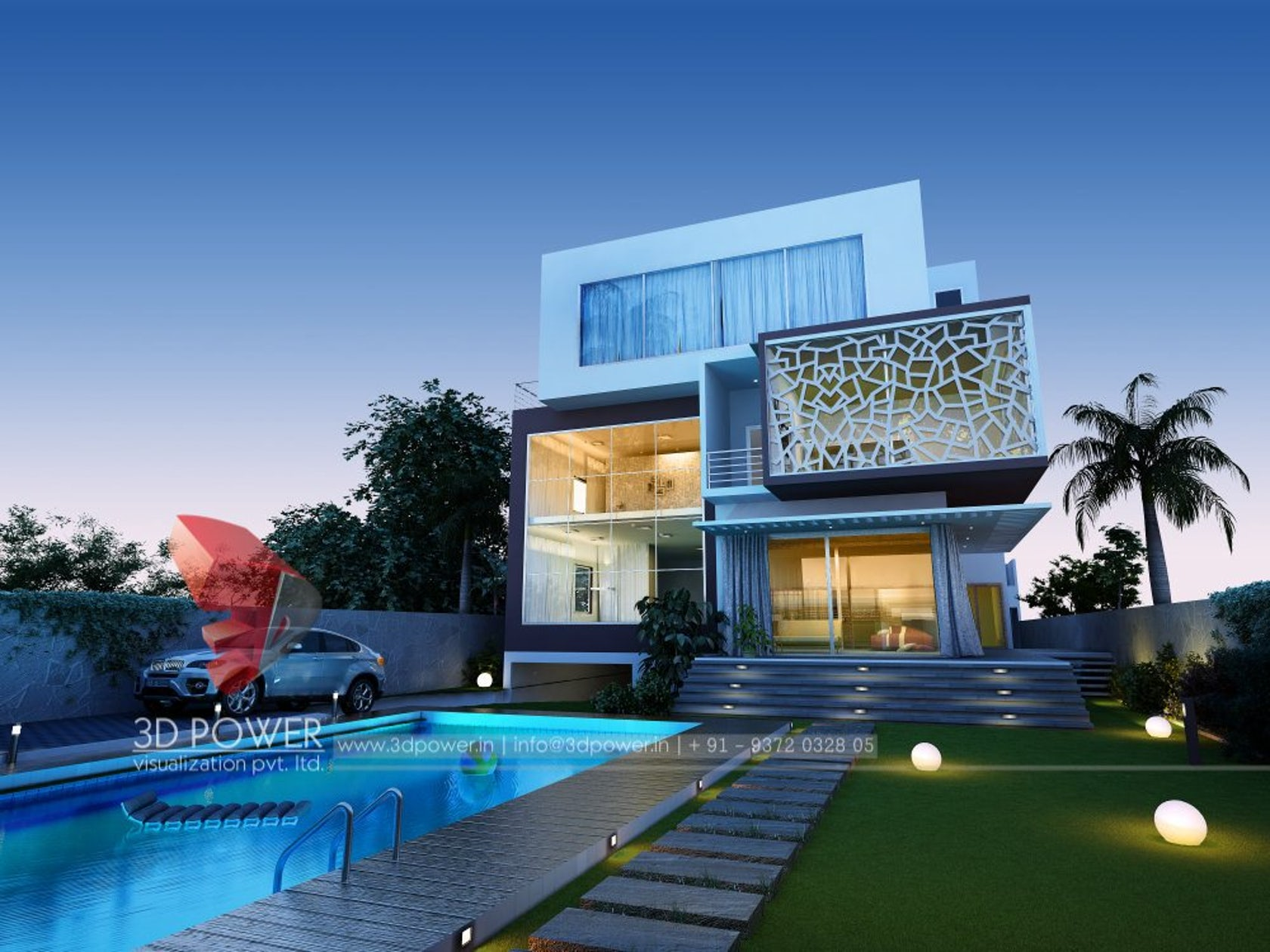 3d power visualization pvt ltd architizer Modern house company