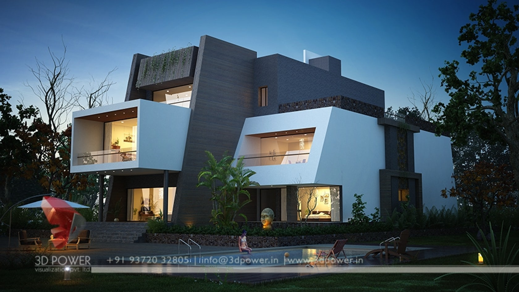 3d power visualization pvt ltd architizer for 3d home exterior design tool download