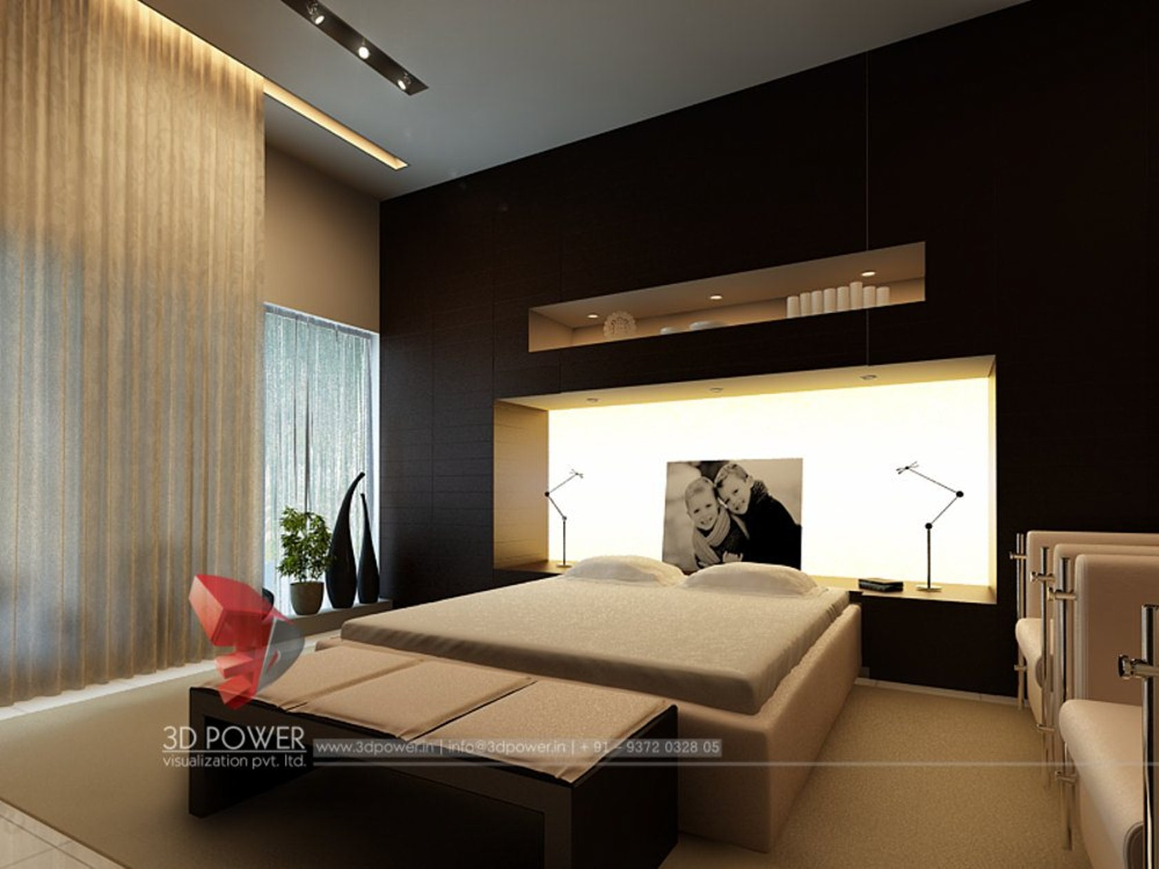 contemporary and modern living room kitchen and bedroom designs by 3d power architizer