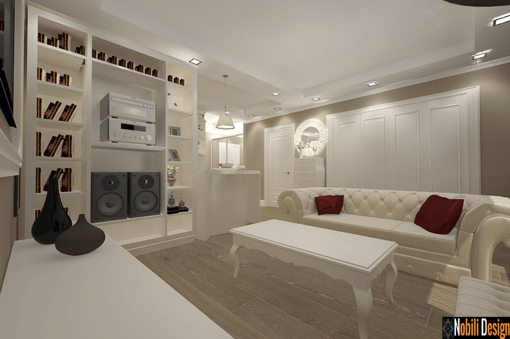 Interior Design Classic Apartment In Bucharest Architizer
