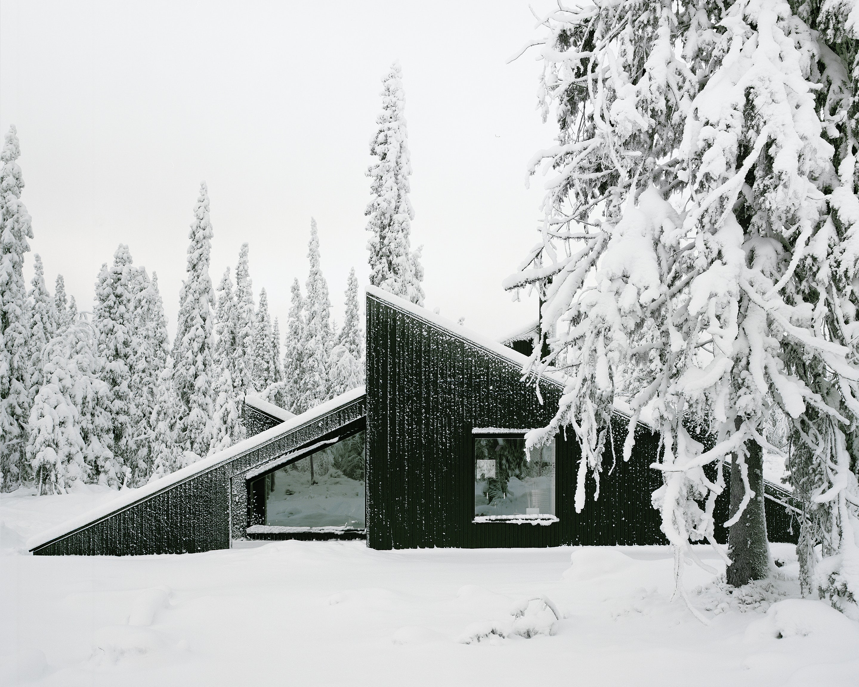 Nordic Noir: 7 Scandinavian Homes Enveloped in Black