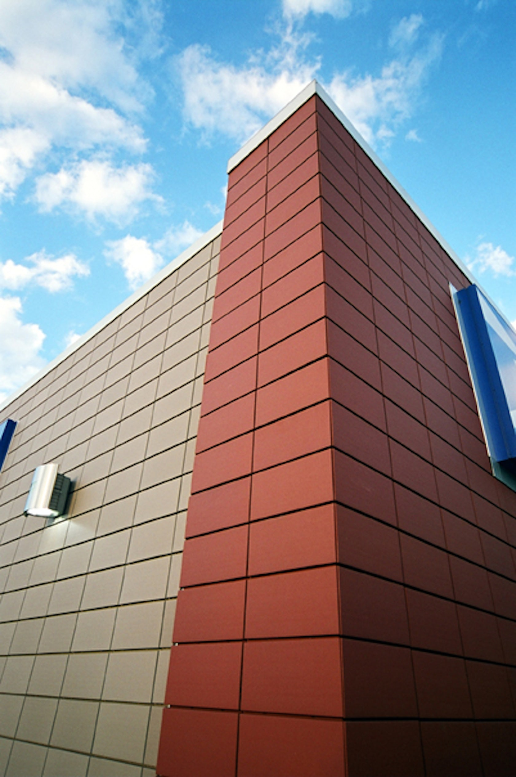 Seaford post office architizer Exterior masonry stabilising solution