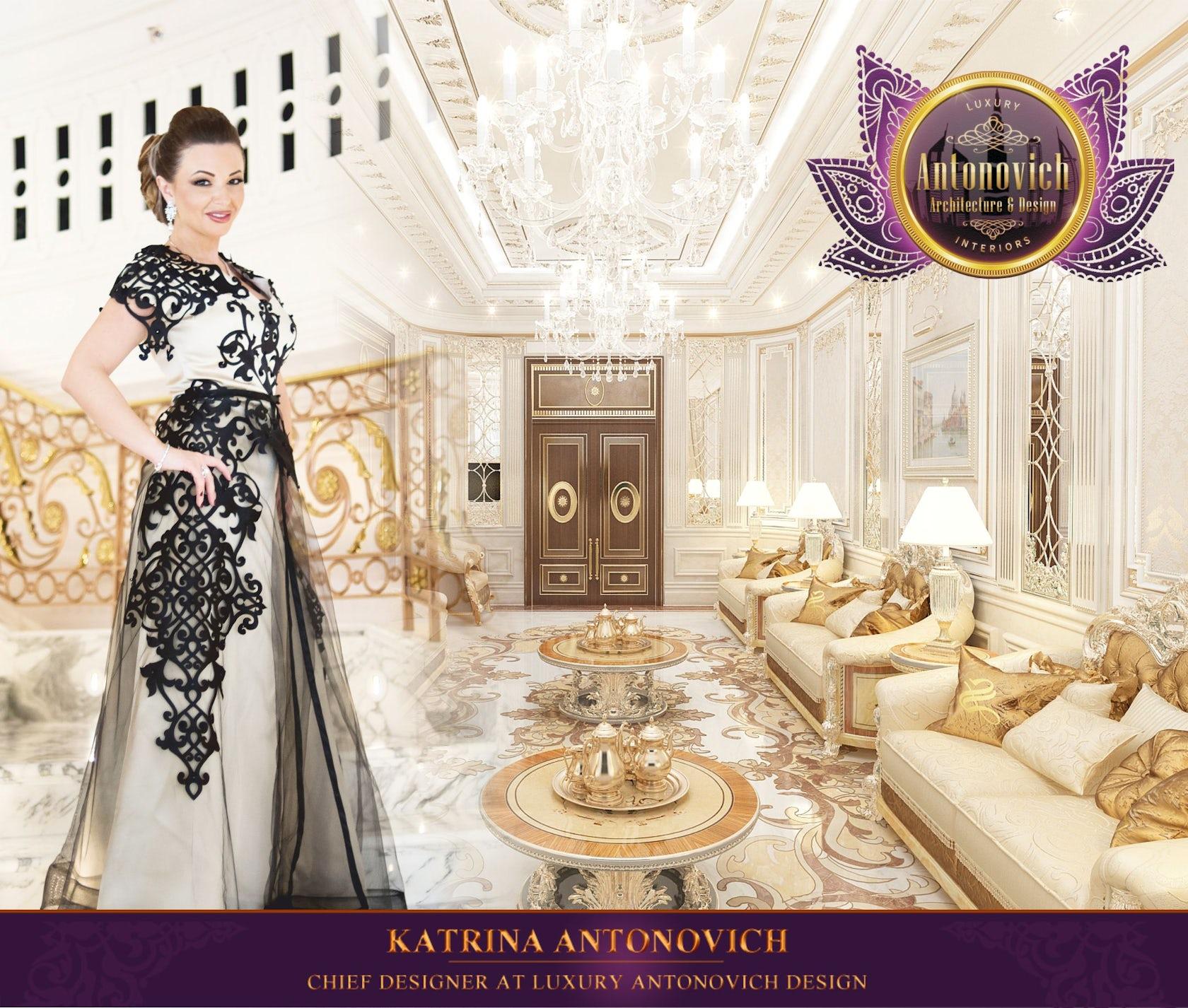 Katrina Antonovich Luxury Interior Design: Living Room Interior Design By LUXURY ANTONOVICH DESIGN