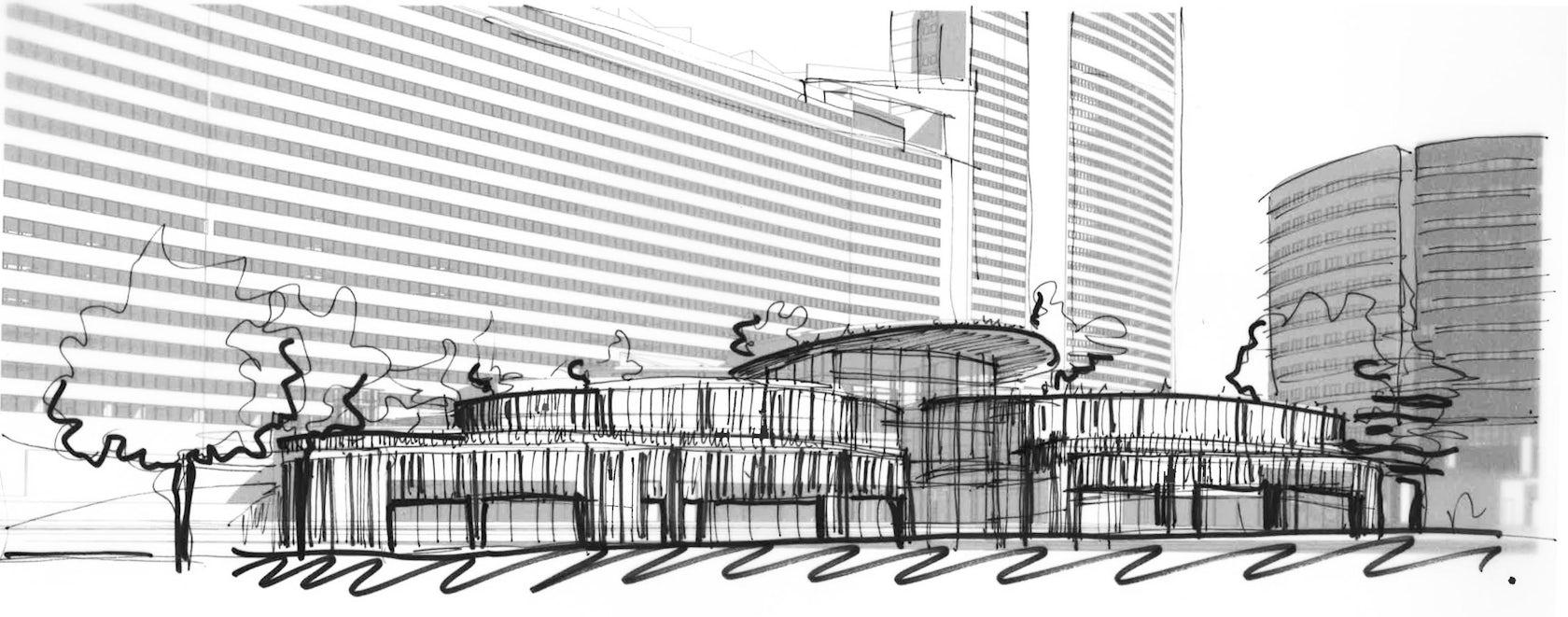 ensemble immobilier charras architizer. Black Bedroom Furniture Sets. Home Design Ideas