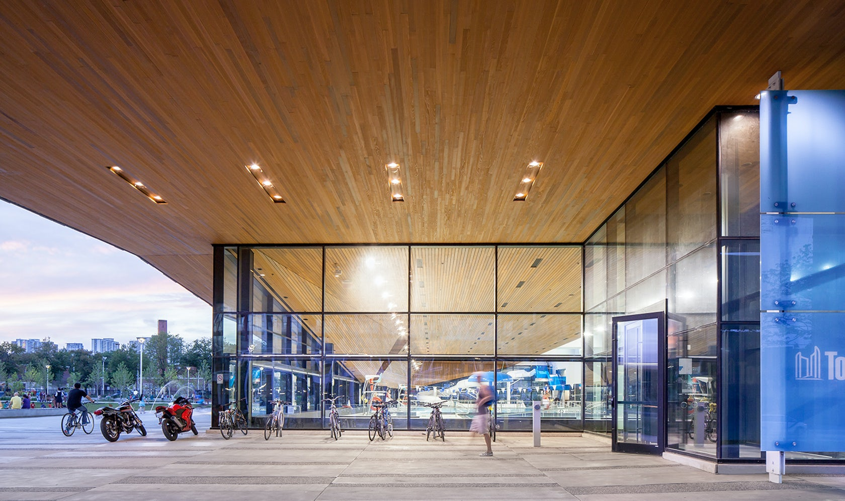 Regent Park Aquatic Centre On Architizer