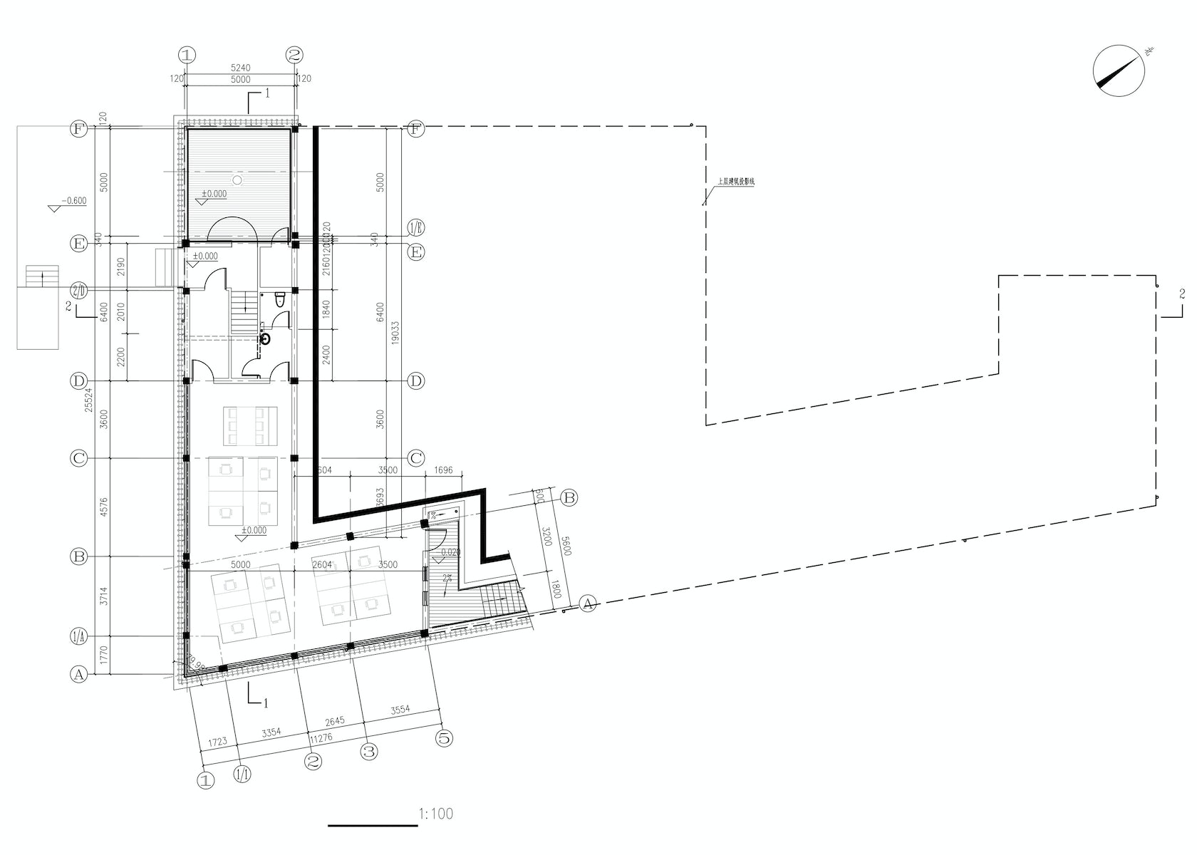 The screen architizer for Plot plan drawing