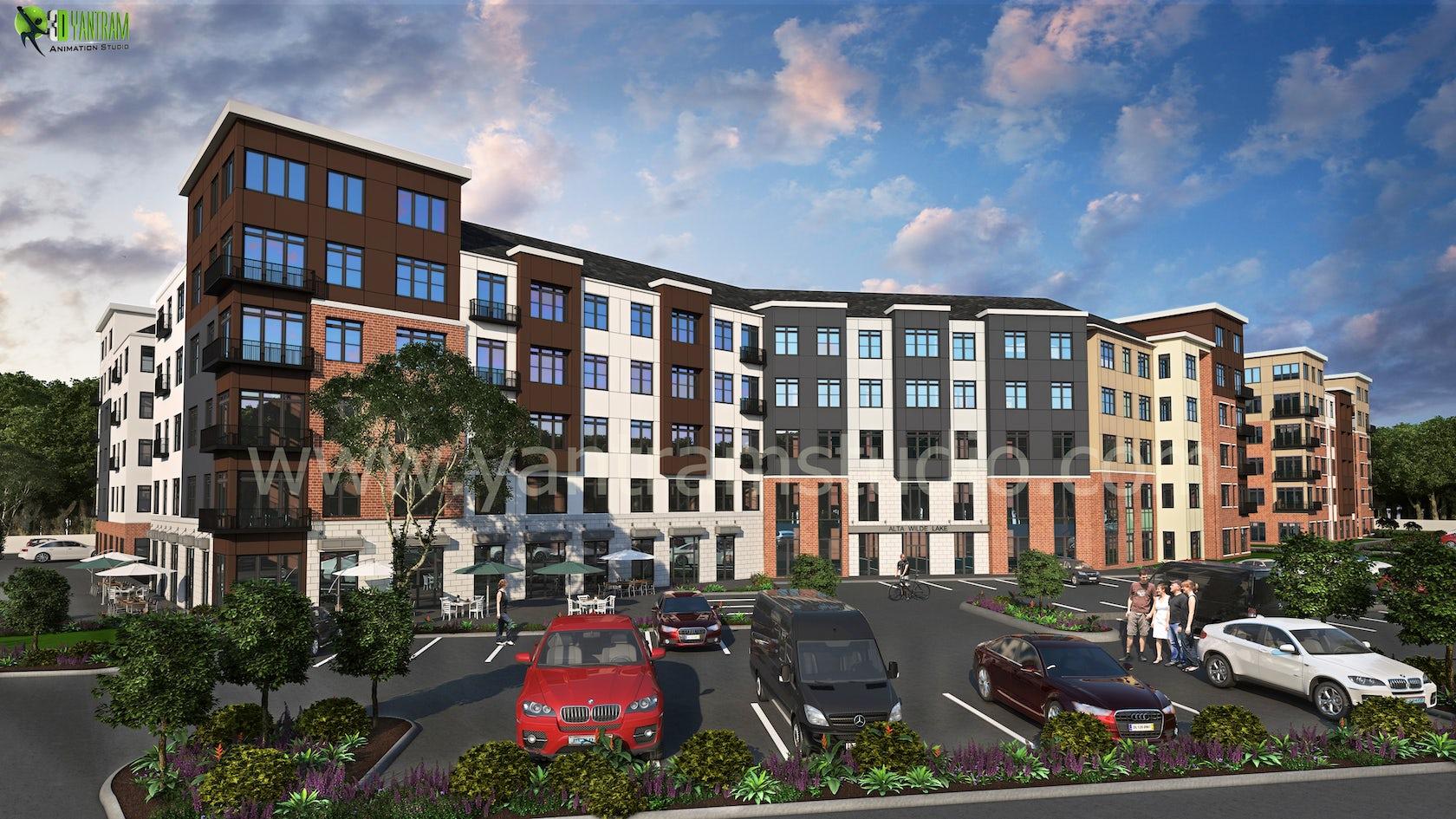 Commercial building exterior design architizer for Commercial building exterior design