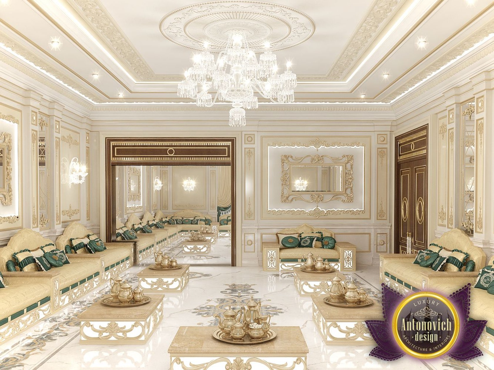 Arabic Majlis Interior Design From Luxury Antonovich