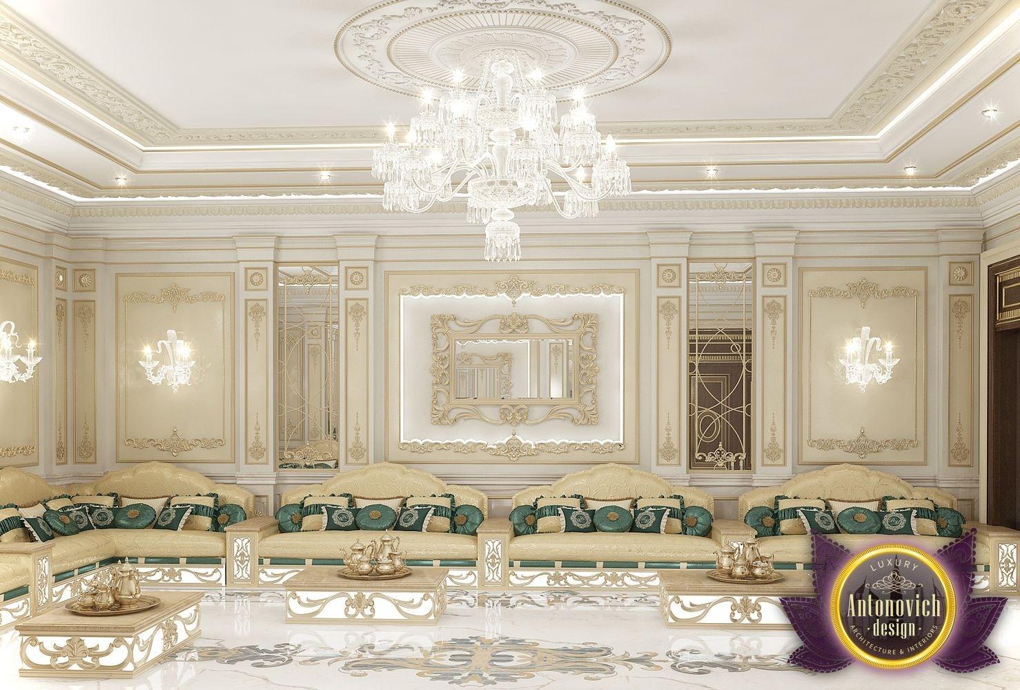 Arabic Majlis Interior Design Delectable Arabic Majlis Interior Design From Luxury Antonovich Design On . Inspiration Design