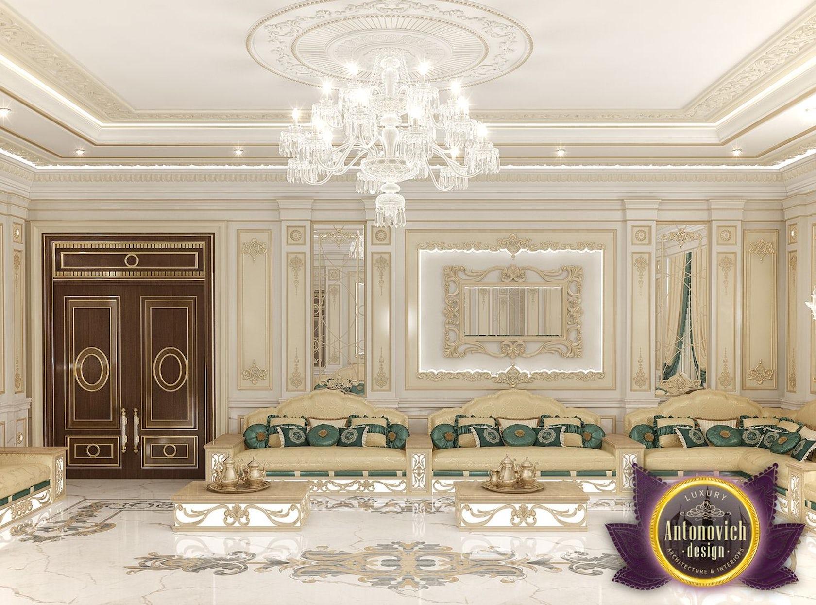 Arabic Majlis Interior Design from Luxury Antonovich Design on Architizer
