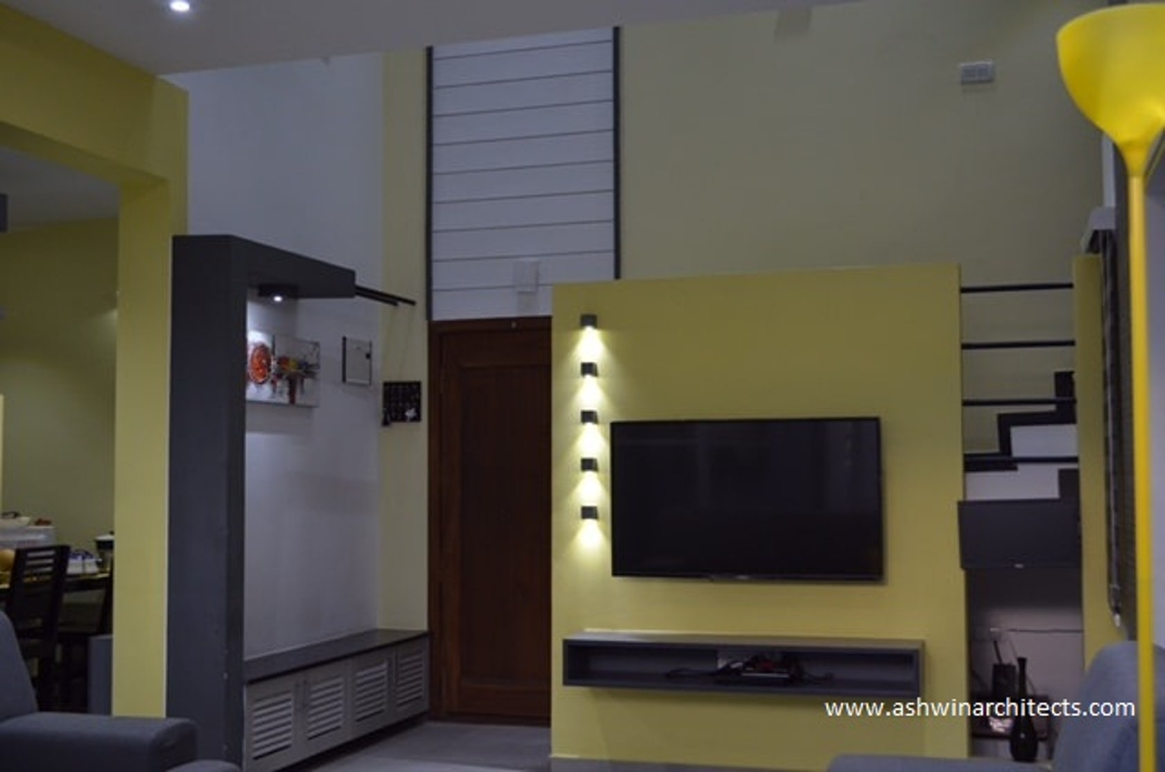 30 x44 south facing site with 3 bhk duplexes bangalore for Duplex house interior designs pictures