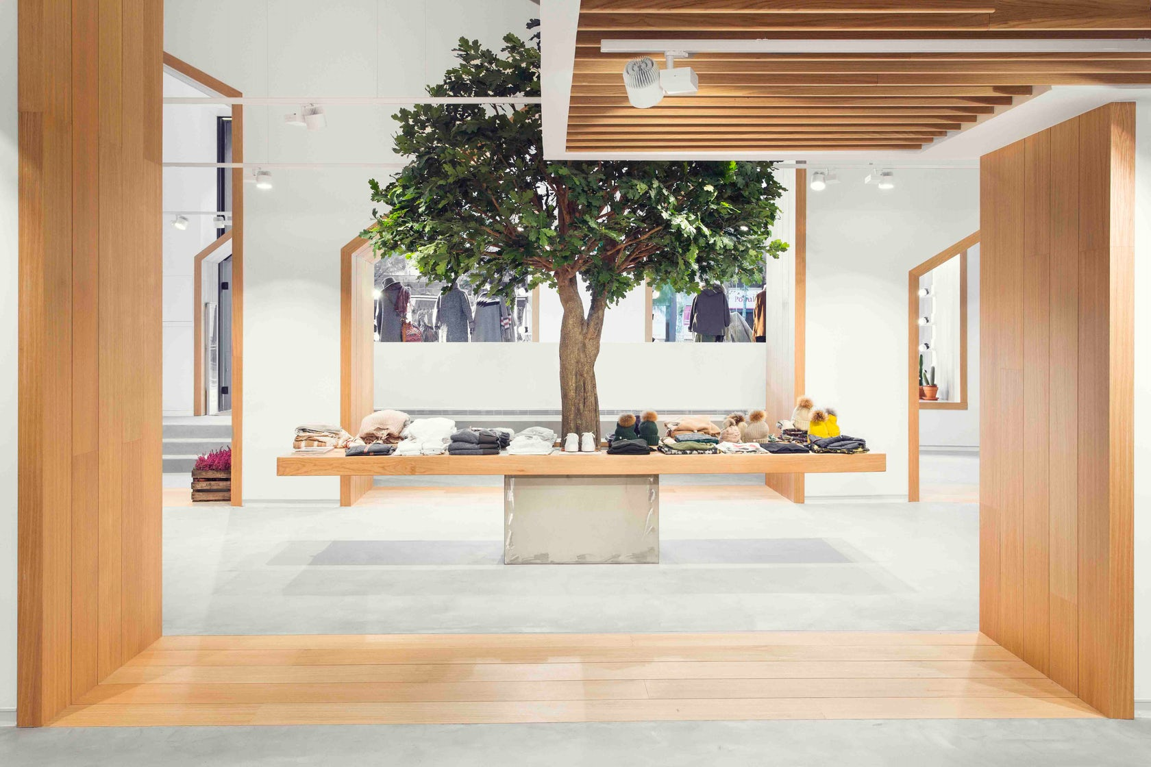 Sketch Concept Clothe Store Architizer