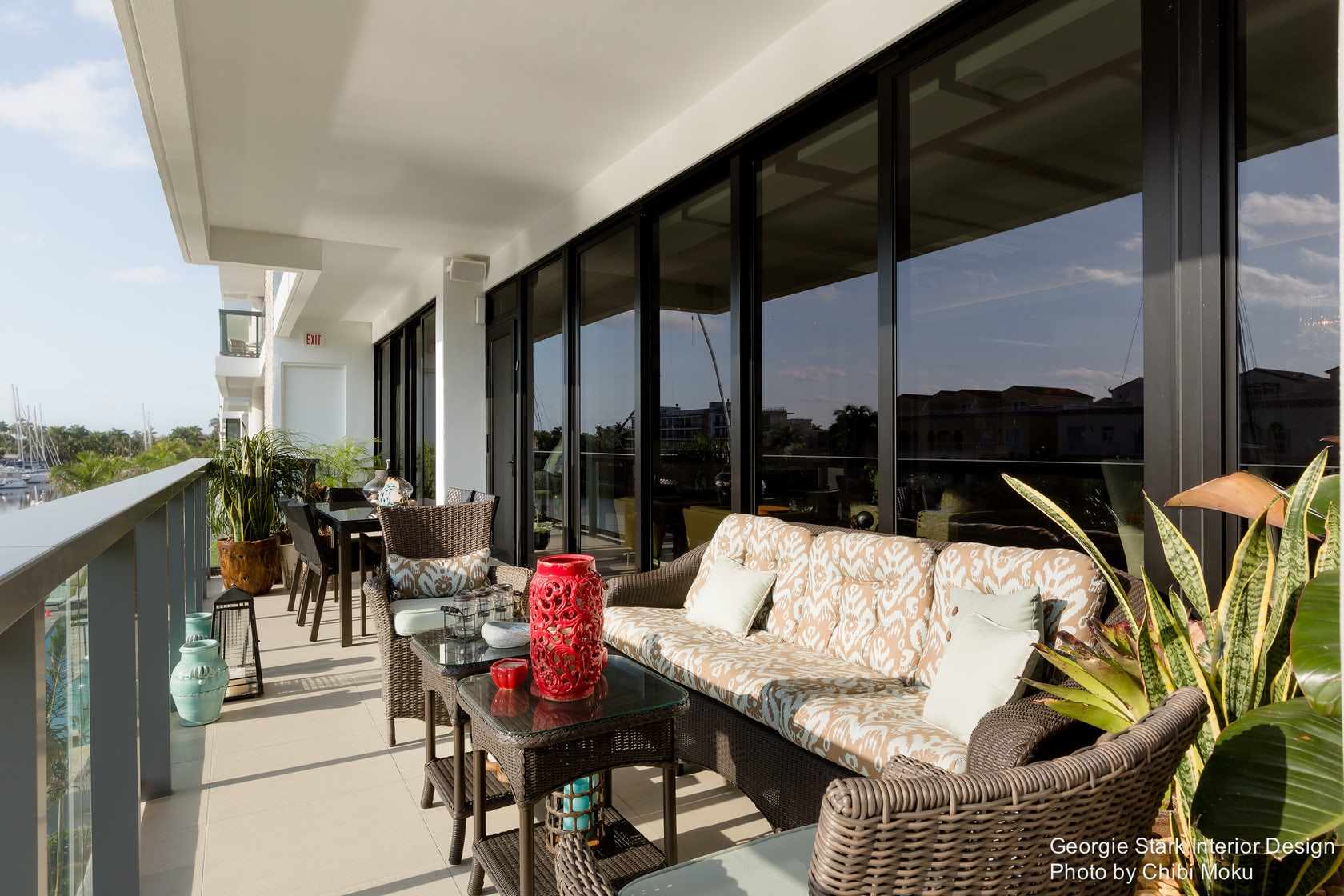 Custom Canalside Condo Georgie Stark Ft Lauderdale Fl Architizer