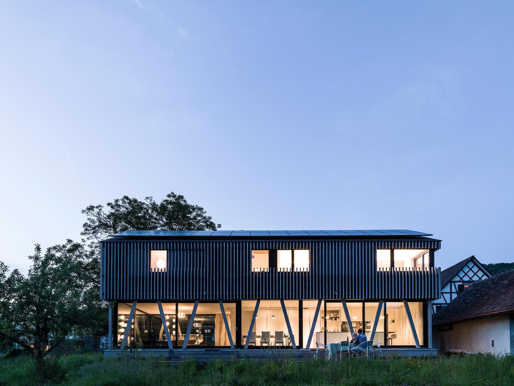 Neubau Einfamilienhaus in Holzbau Hemishofen on Architizer
