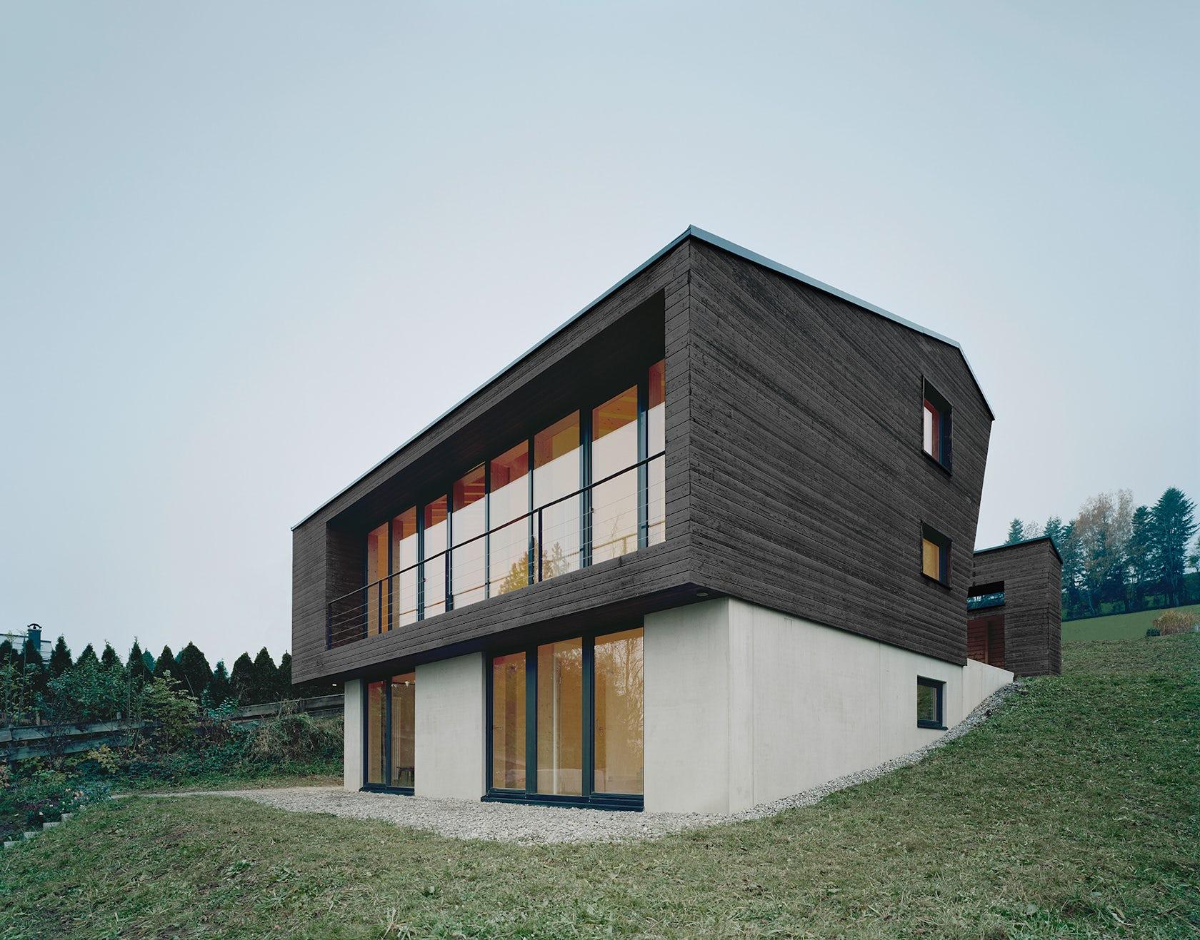 Haus p architizer for Haus architektur