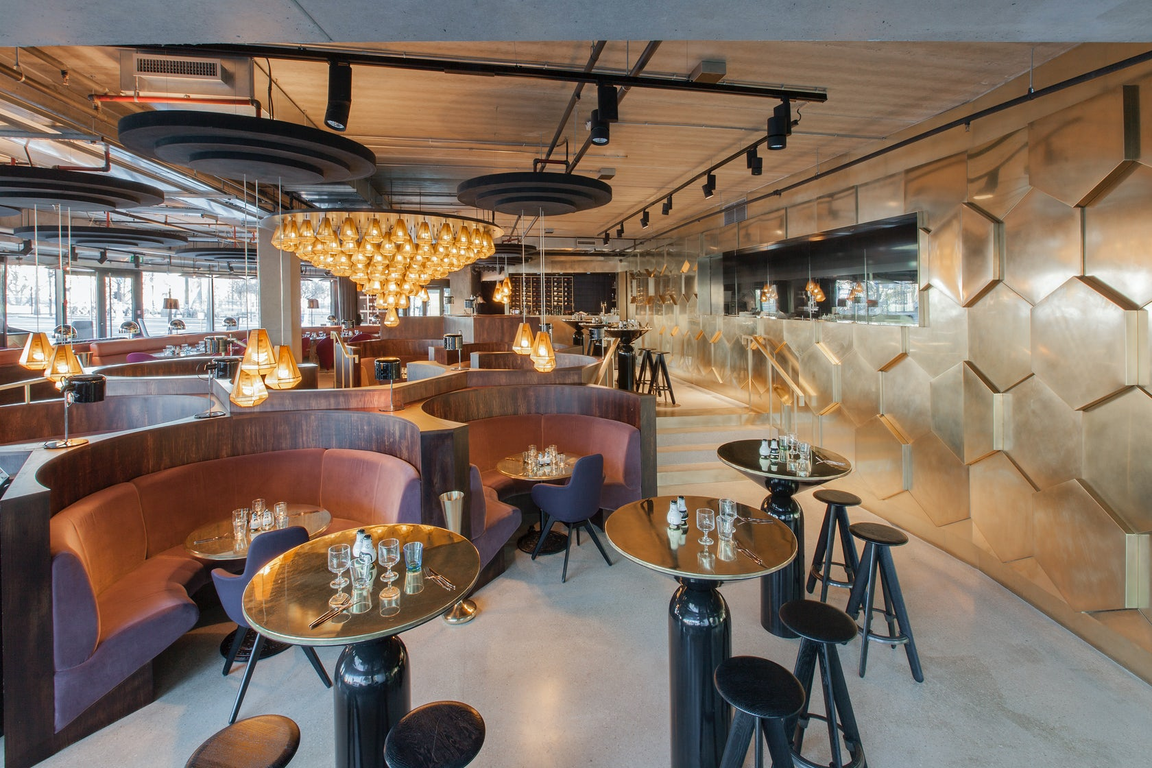 Eclectic architizer for Eclectic restaurant