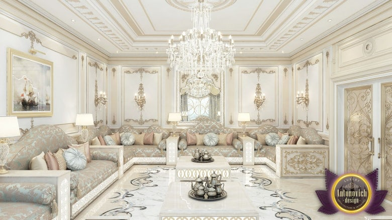 Living Room Interior Of Luxury Antonovich Design Architizer