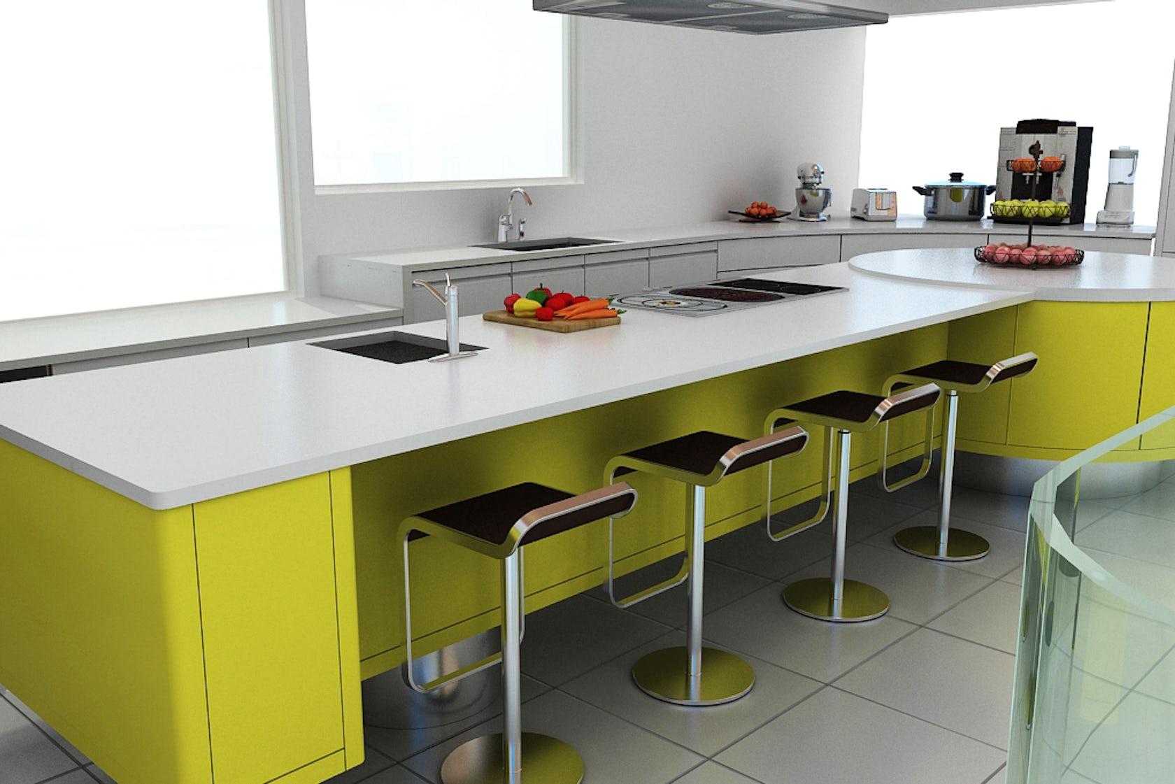 3d Furniture Design Rendering Project Sample Architizer