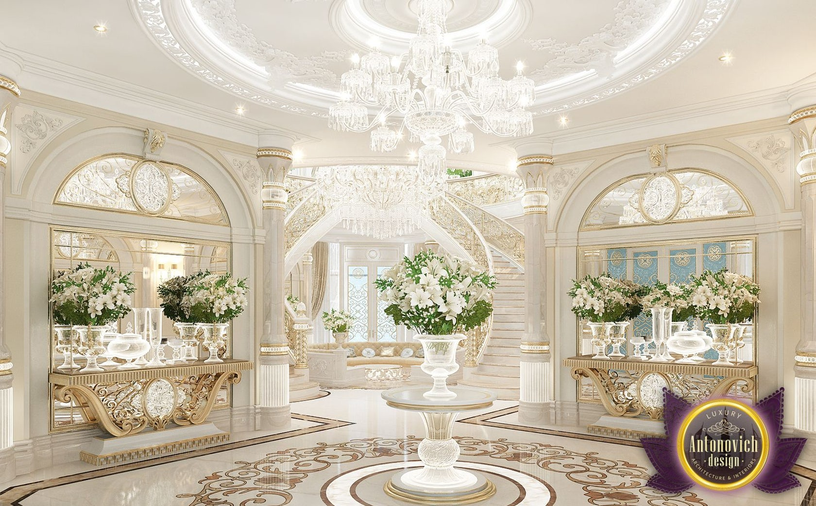 Best interiors of luxury antonovich design dubai architizer - Interior design dubai ...
