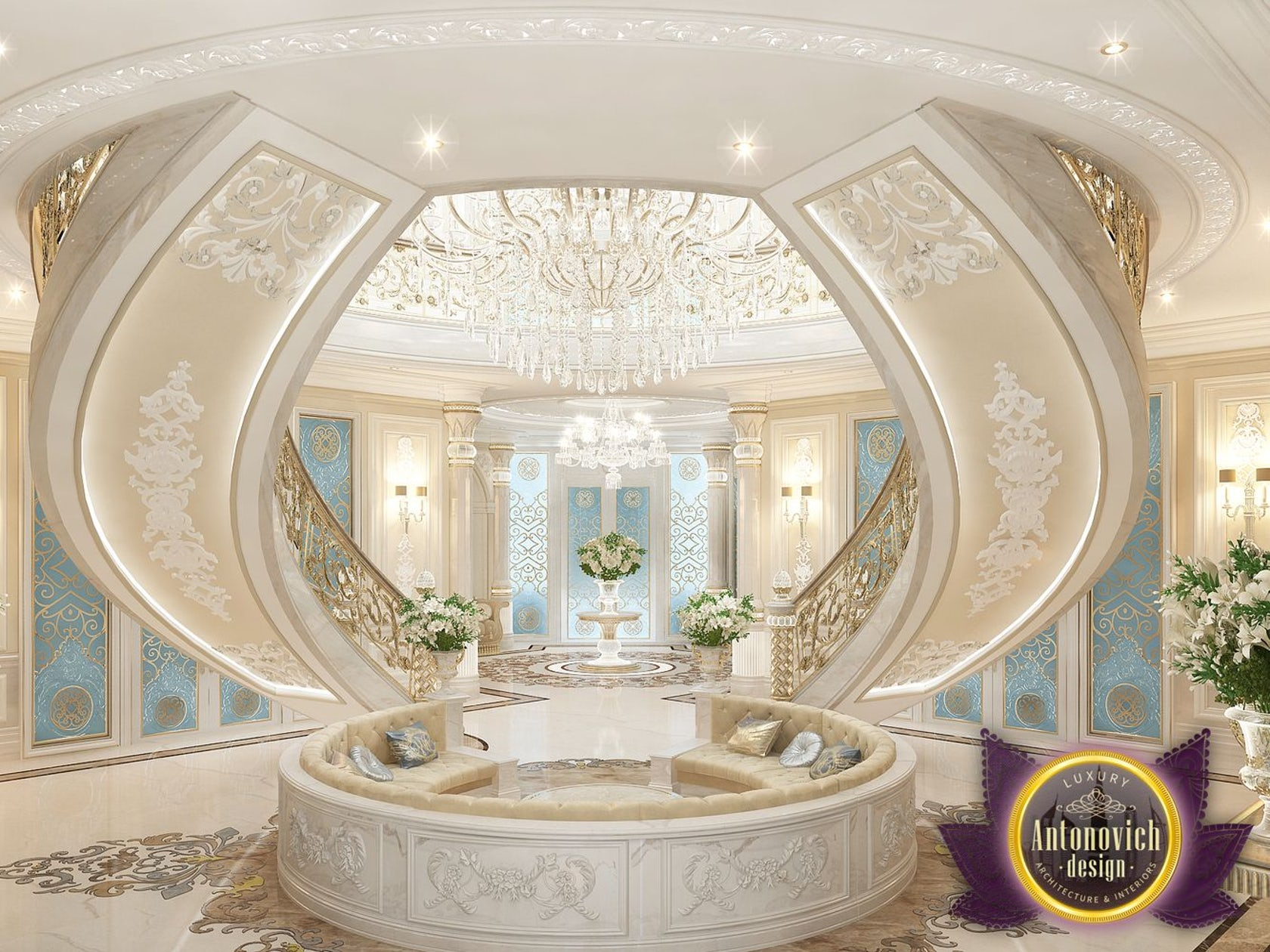 Beautiful dressing room design in dubai by luxury antonovich design - Beautiful Dressing Room Design In Dubai By Luxury Antonovich Design 32