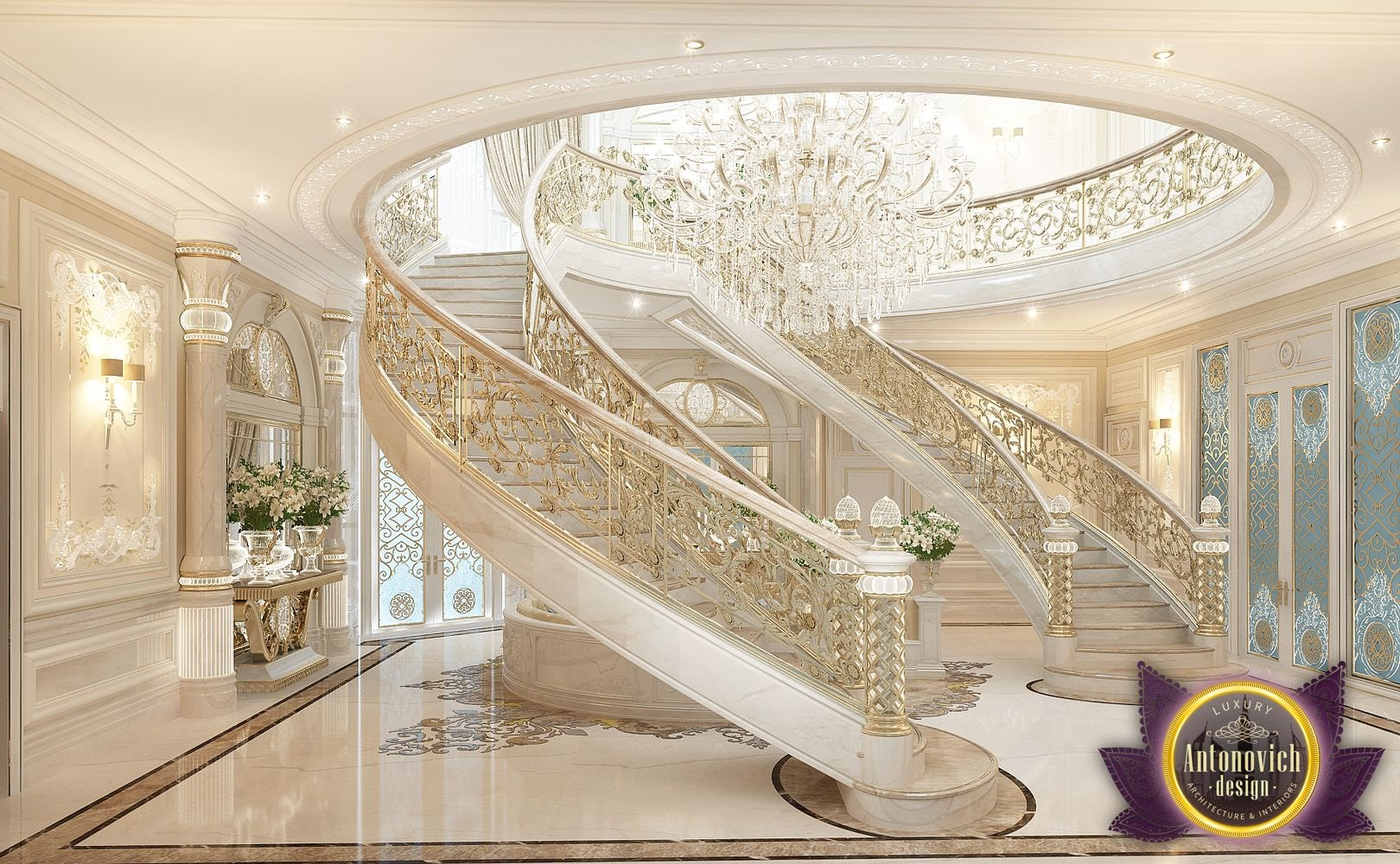 Best Interiors Of Luxury Antonovich Design Dubai Architizer