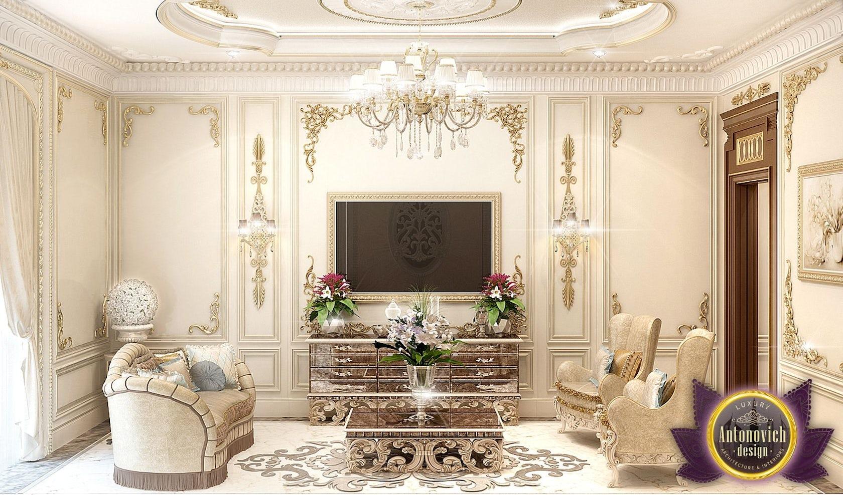 luxury royal arabic master bedroom of luxury antonovich design architizer. Black Bedroom Furniture Sets. Home Design Ideas