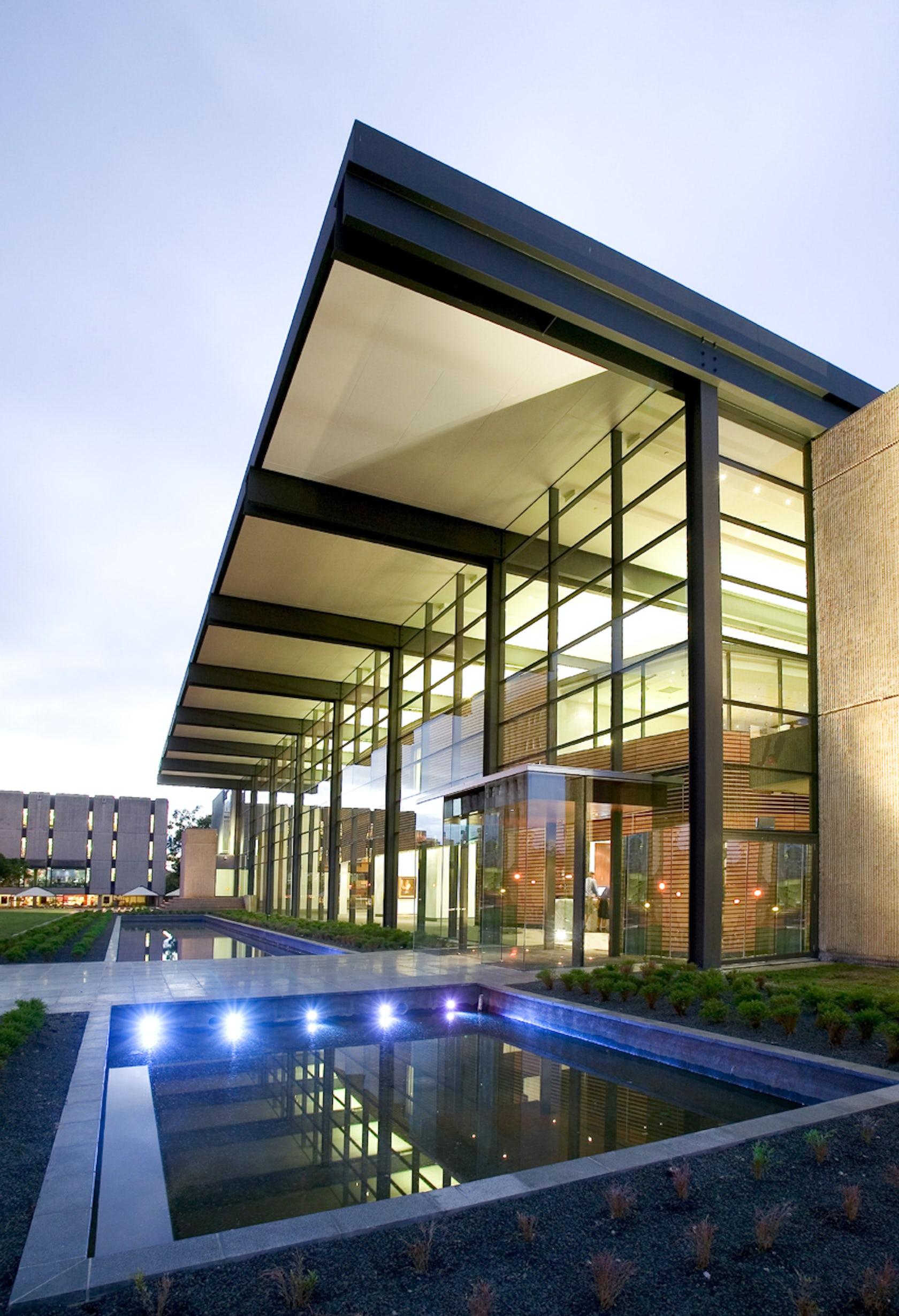 Foyer Museum Queensland : Mayne hall art museum university of queensland architizer