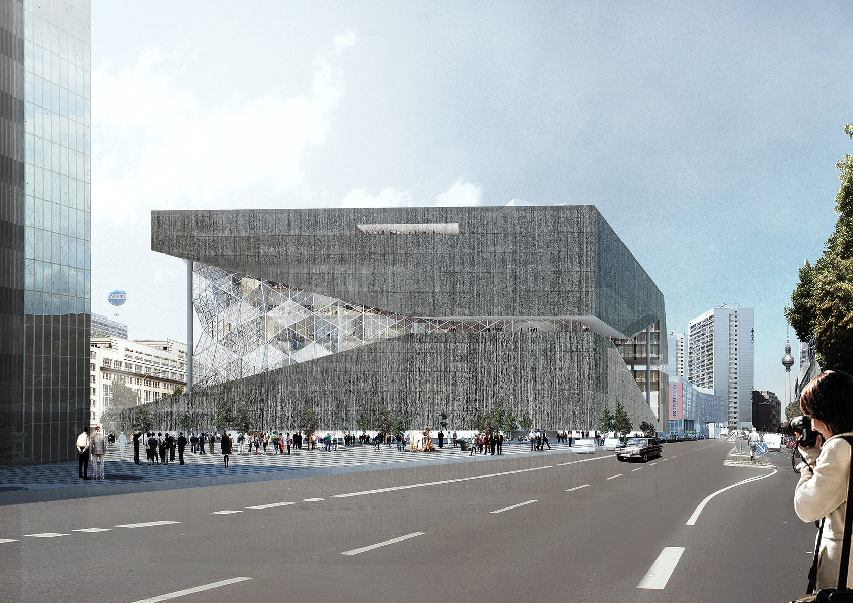 Oma architizer for Oma design museum