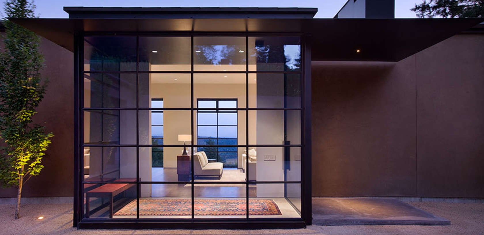 816 #1A3FB1 Get The Big Picture: Top Products For Creating Dream Window Walls  image Residential Steel Doors And Frames 47631680