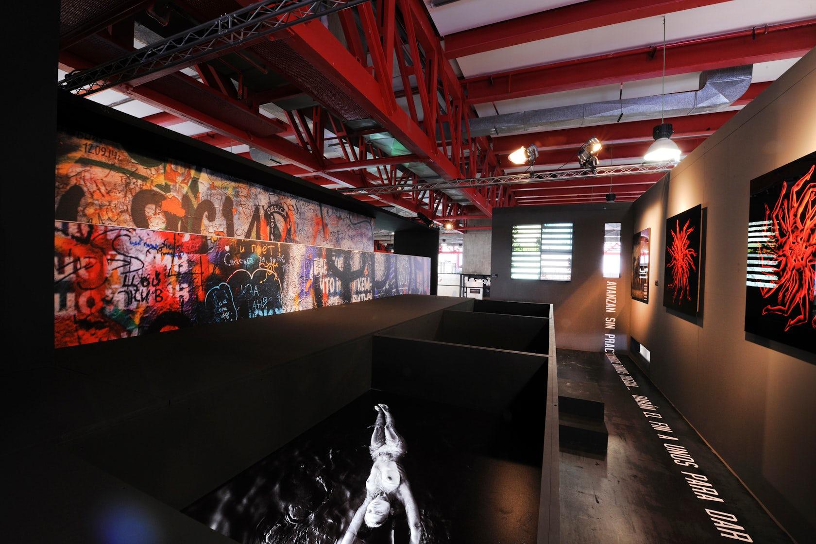 Art gallery clorofila digital architizer - Clorofila digital madrid ...