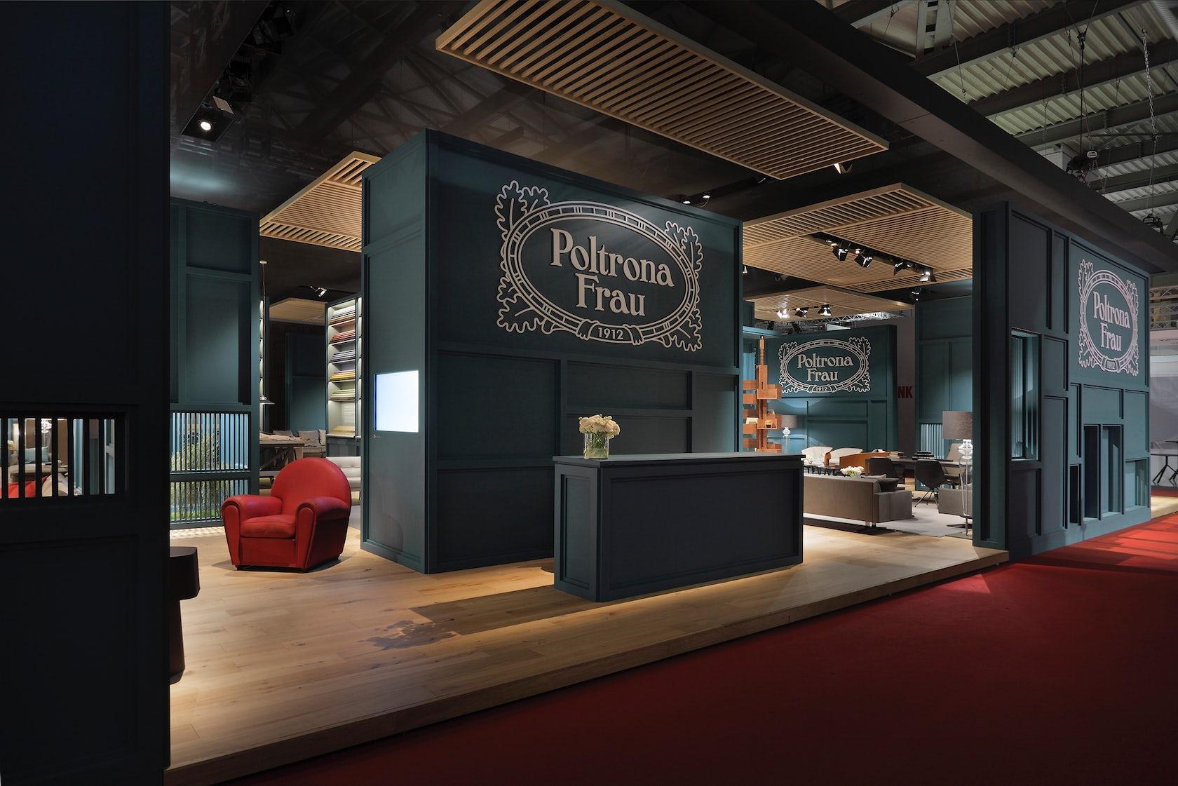 Poltrona frau stand 2014 architizer for Poltrone frau milano