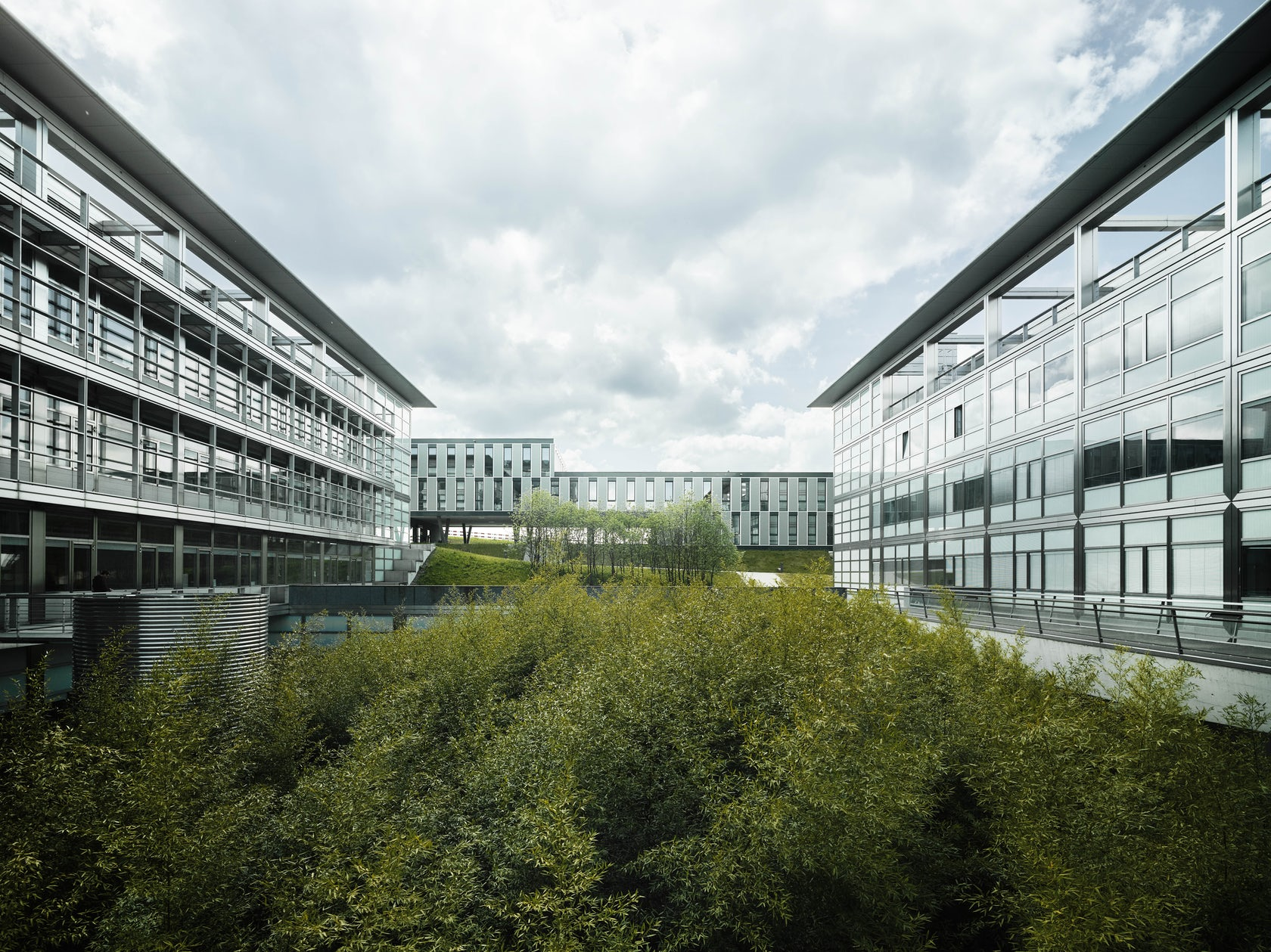 Hcp office and seminar building eth zurich architizer for Oficinas zurich