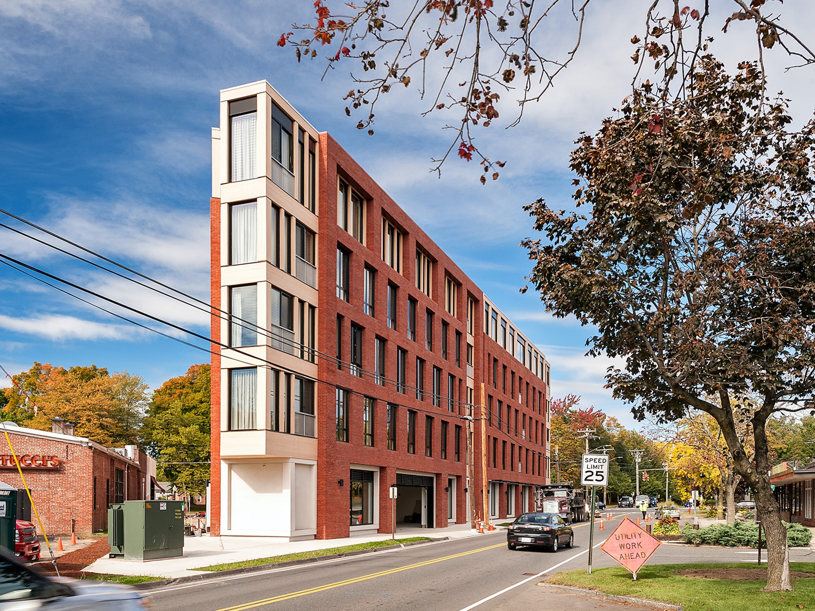 Holst architecture architizer for College street motors amherst ma