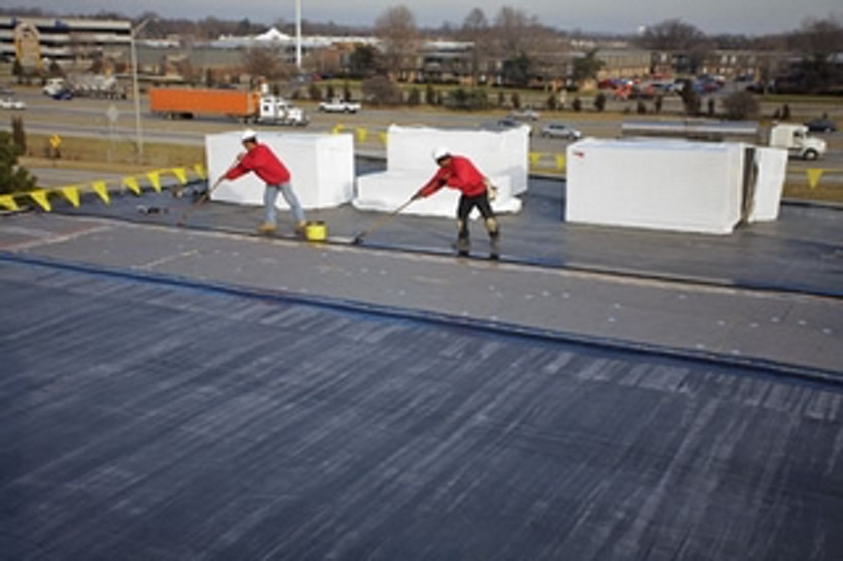 Benefits of fully adhere epdm roofing system architizer - Advantages epdm rubber roofing ...