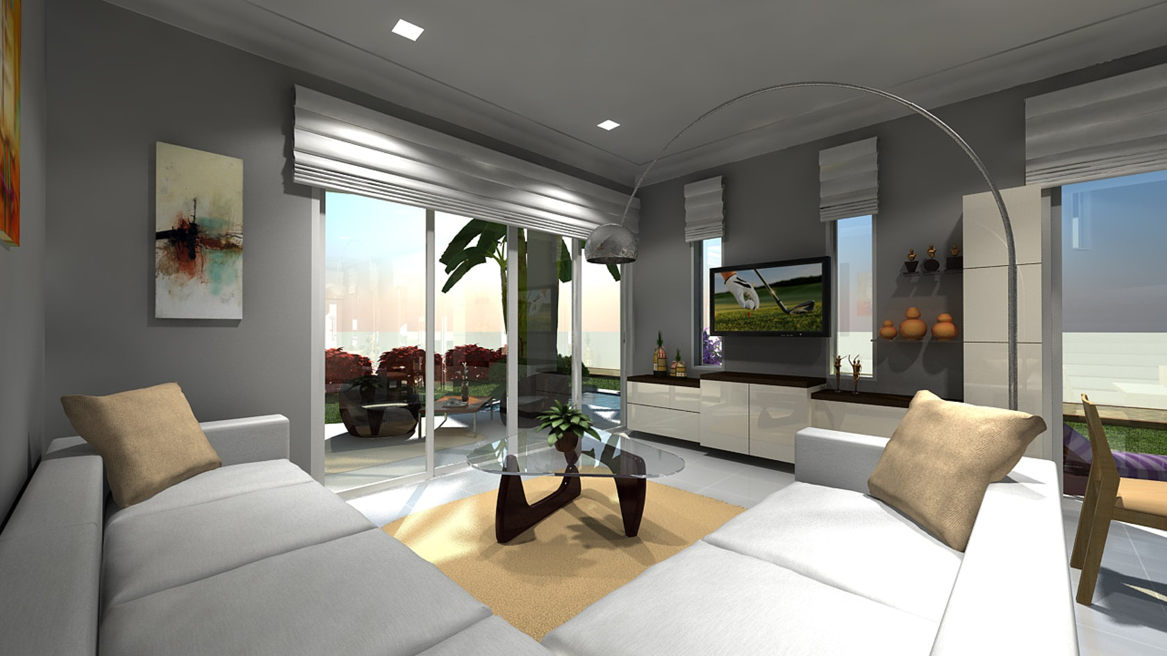 interior architectural 3d modeling samples of hotel building architizer. Black Bedroom Furniture Sets. Home Design Ideas