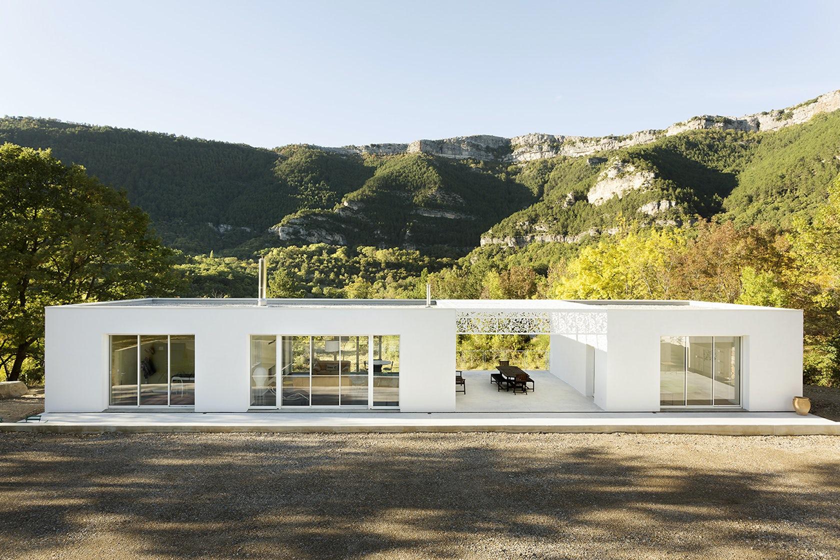 Villa temp r e architizer - Plus belle maison de france ...