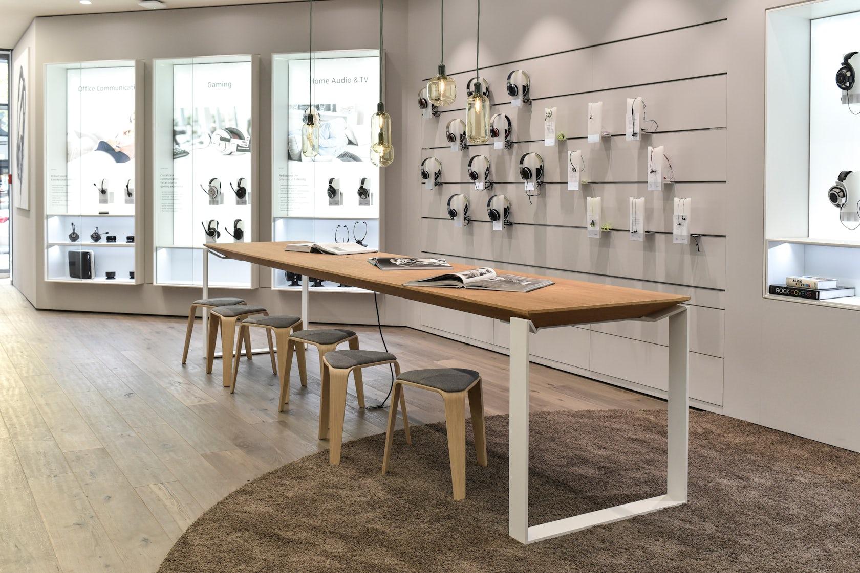 sennheiser store berlin architizer. Black Bedroom Furniture Sets. Home Design Ideas