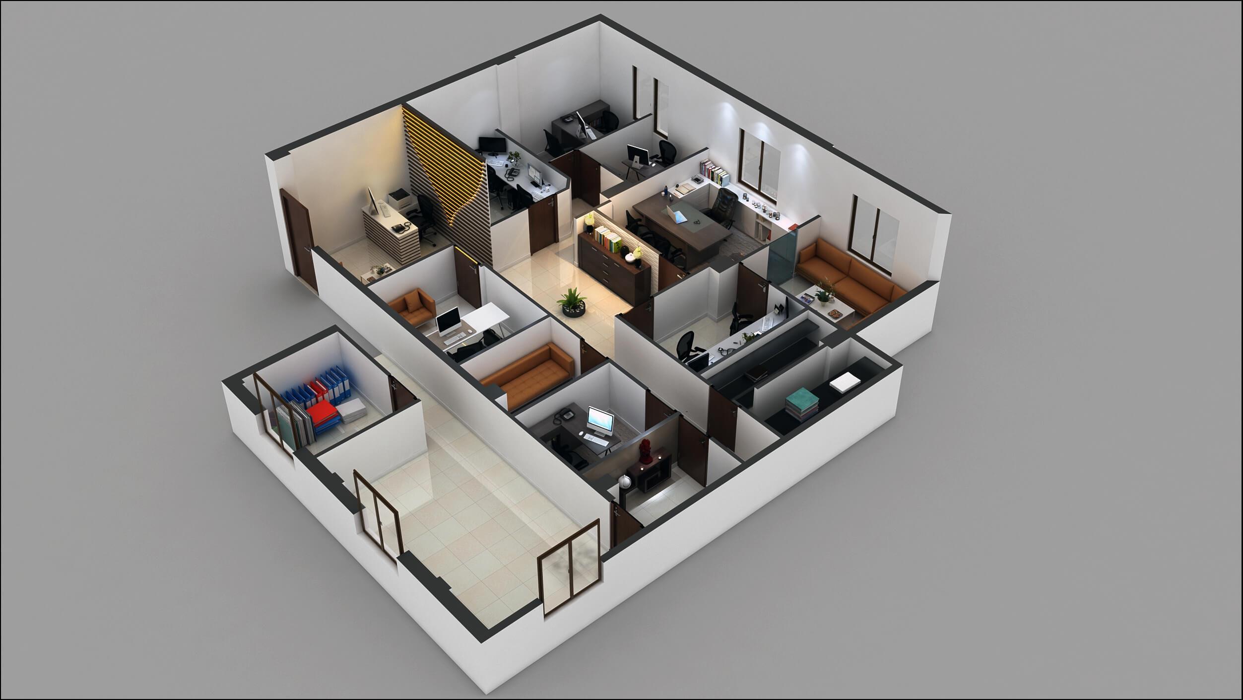 office floor plan design. office floor plan design