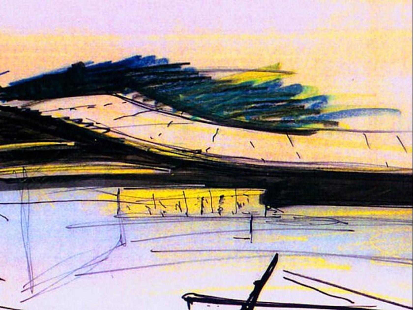 Stade de gen ve architizer for Construction piscine geneve