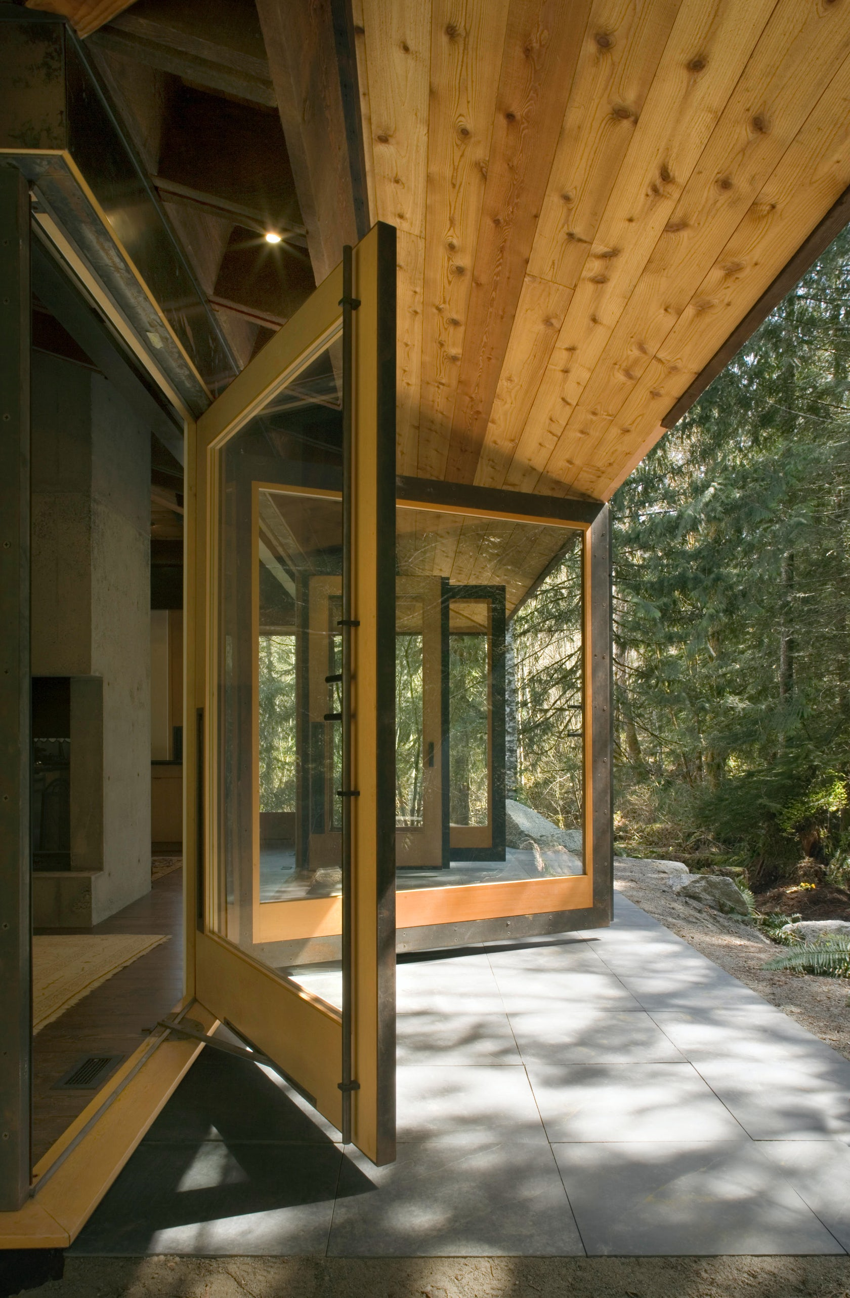 tye river cabin architizer