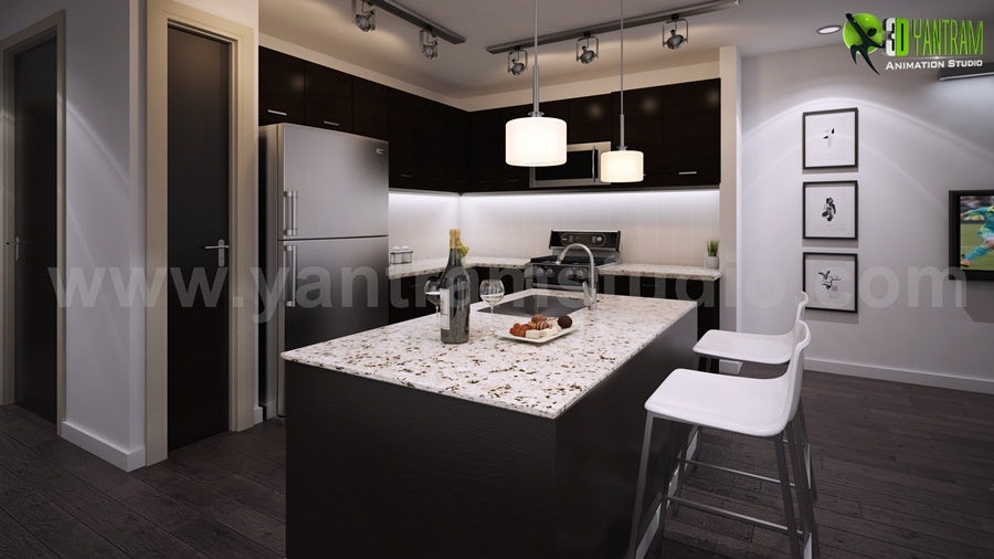Dream House Kitchen Interior Rendering Tips And Tricks On Architizer
