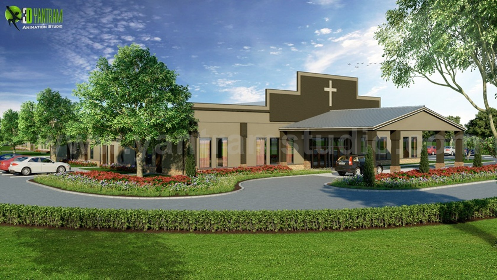 New Modern Exterior Design Church of the USA on Architizer