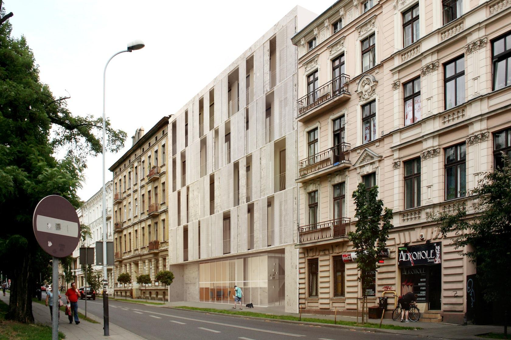 Multifamily Housing Lodz Pl Architizer
