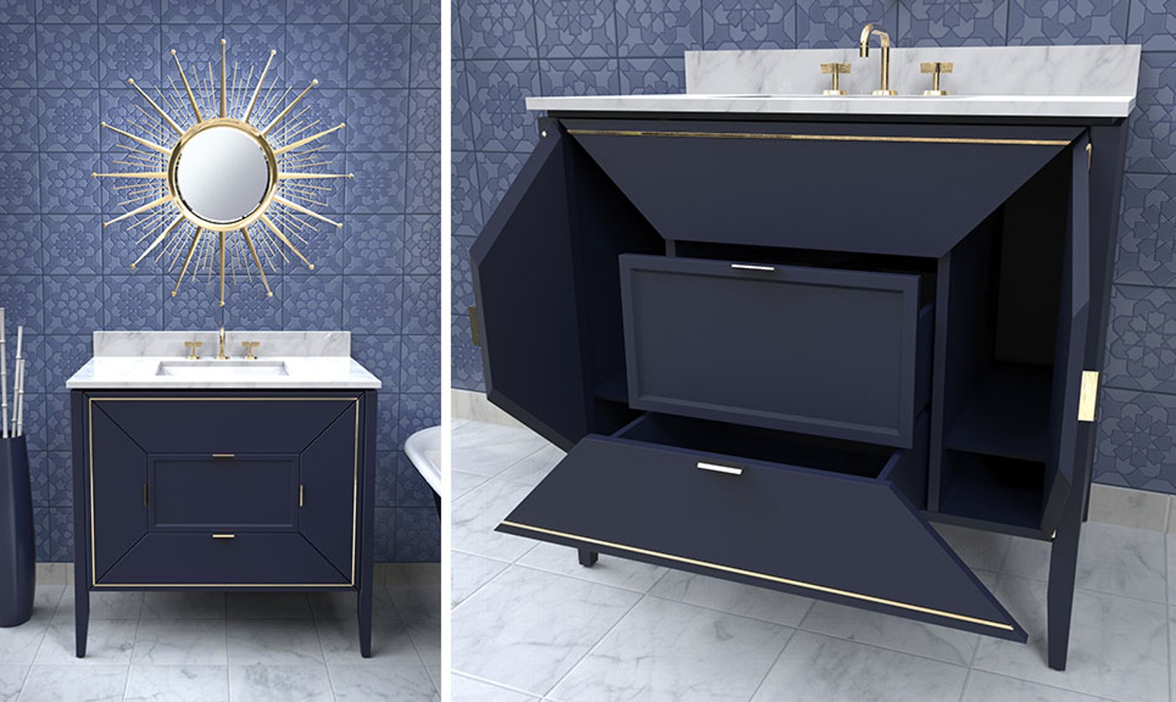 Bathroom furniture companies - Top Kitchen And Bath Trends From Kbis 2017 Fixtures Fittings And Cabinetry Architizer