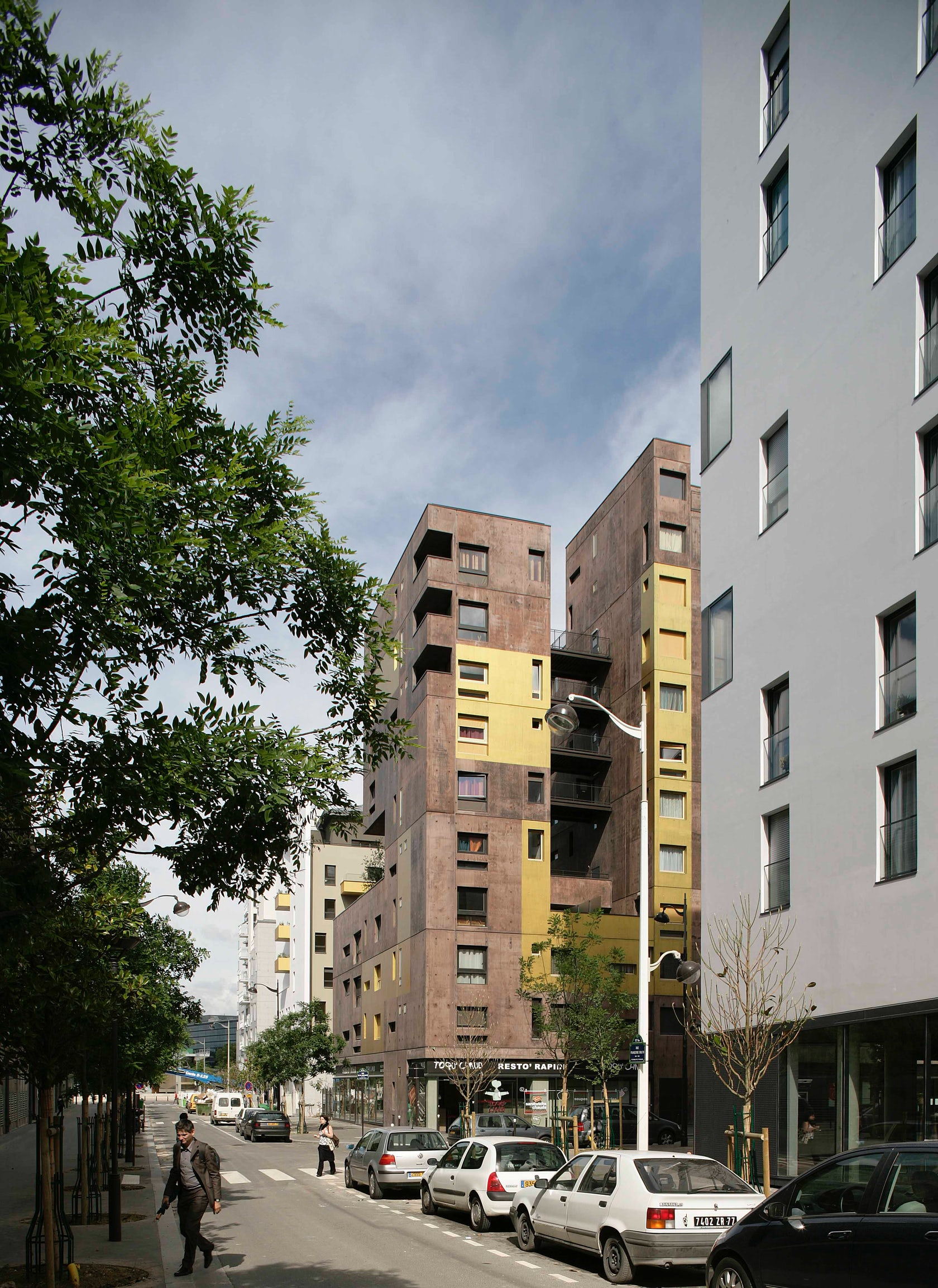 ZAC MASSENA Housing units on Architizer