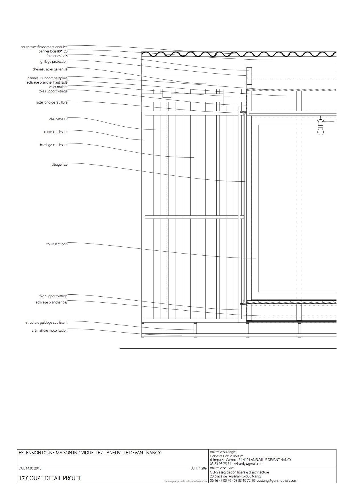 Plan de coupe de maison cheap coupe with plan de coupe de - Application pour faire des plans de maison ...