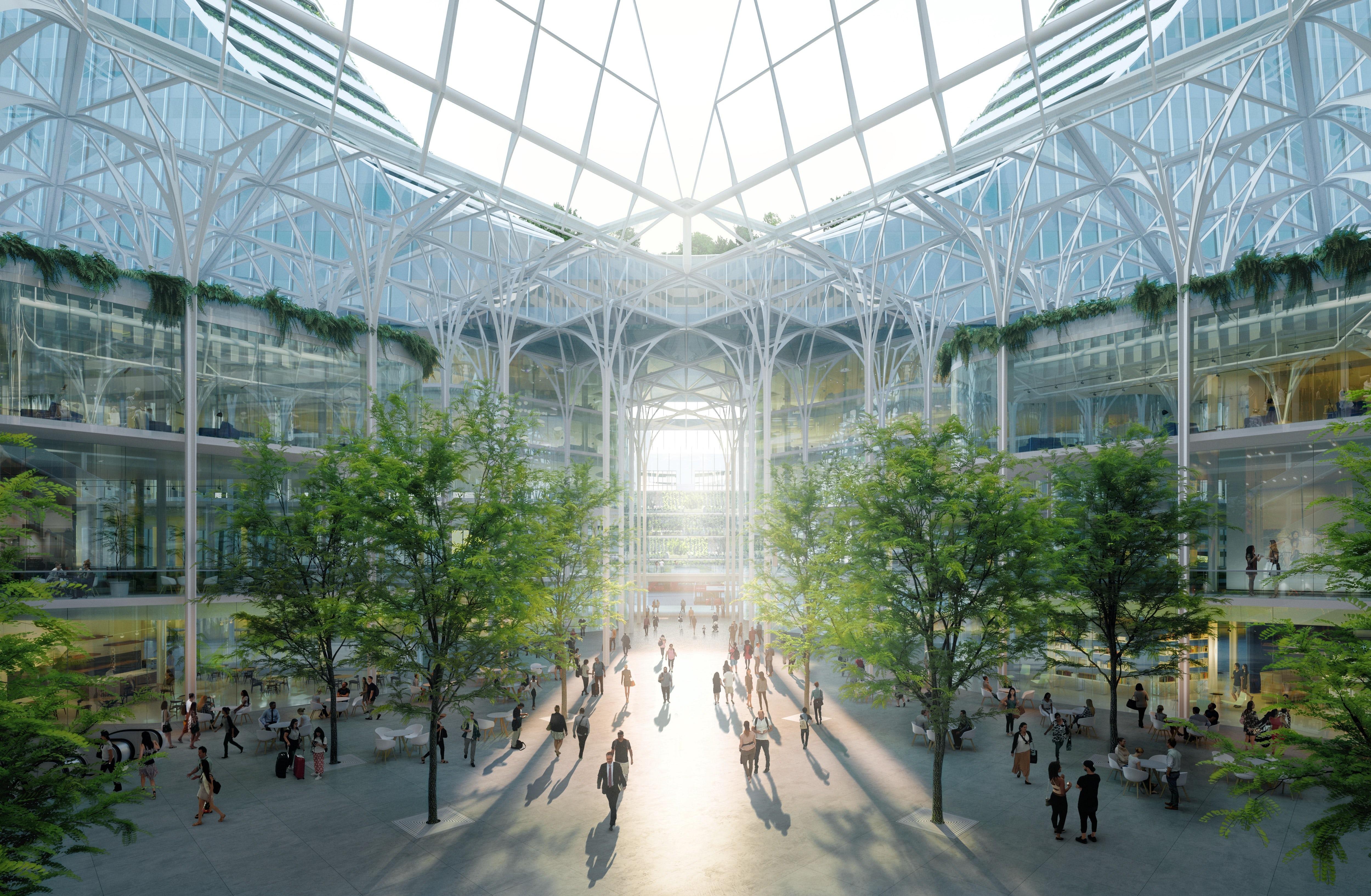 london u0027s new landmark santiago calatrava reveals 1 billion