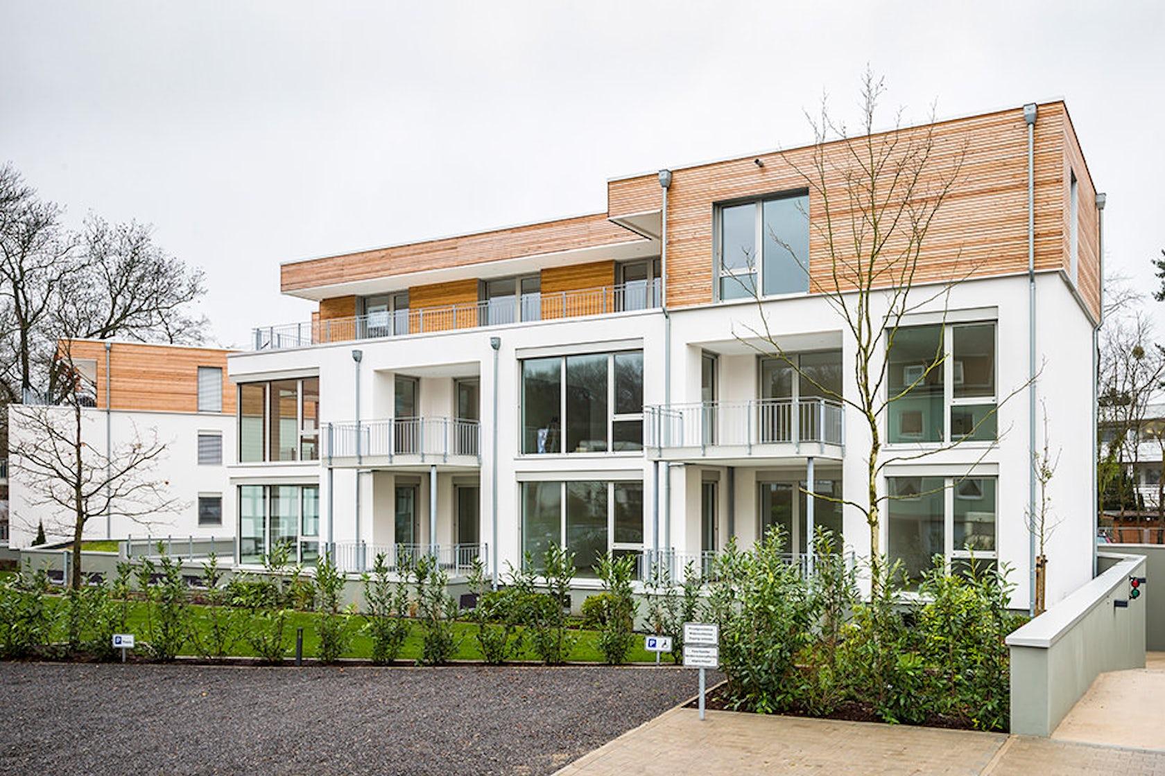 Architekten b kamp architizer for Mehrfamilienhaus neubau