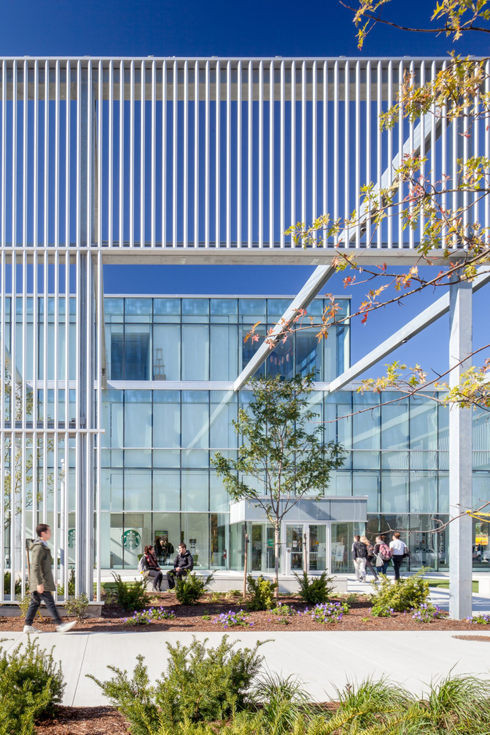 Humber College Student Welcome & Resource Centre - Architizer